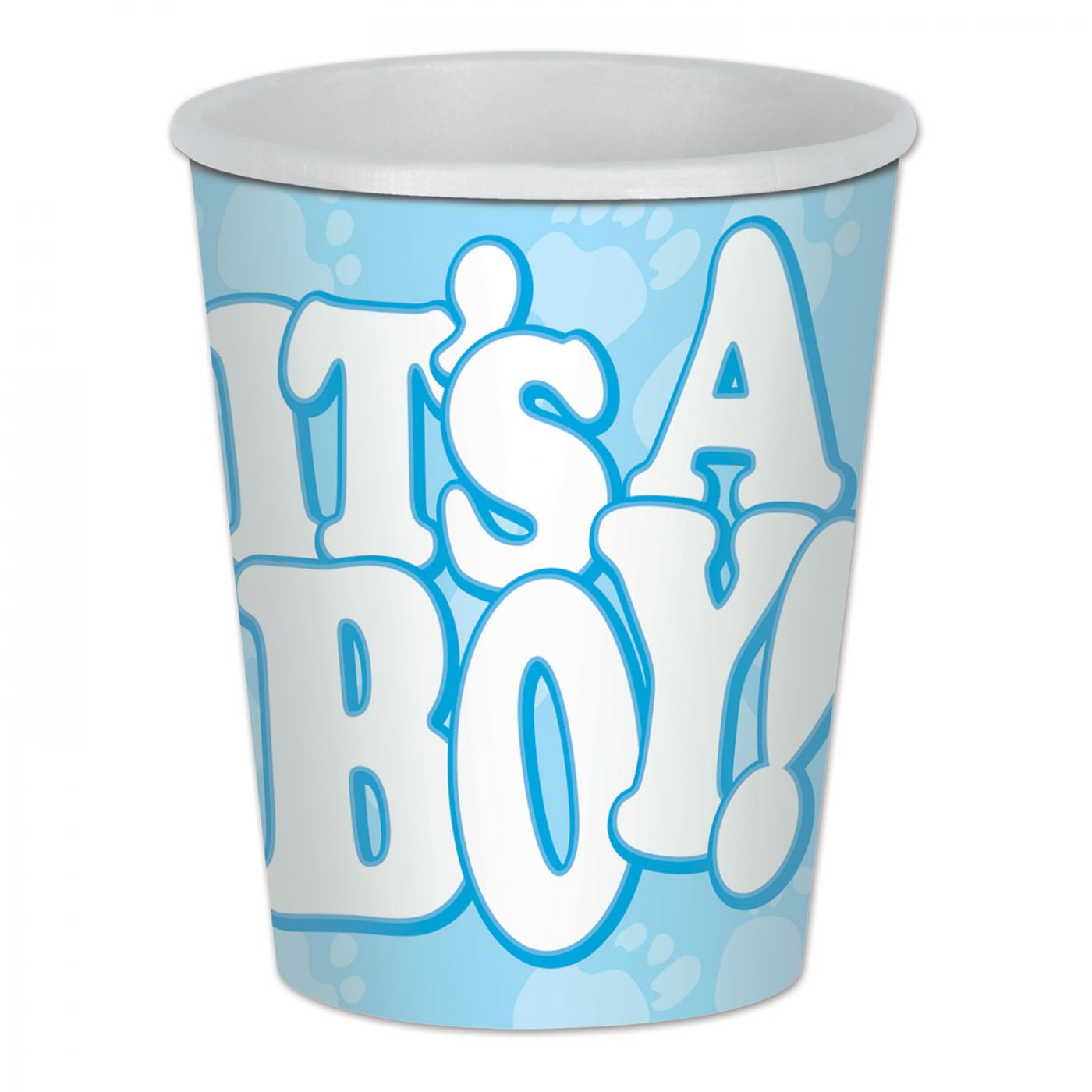 It's A Boy! Beverage Cups image
