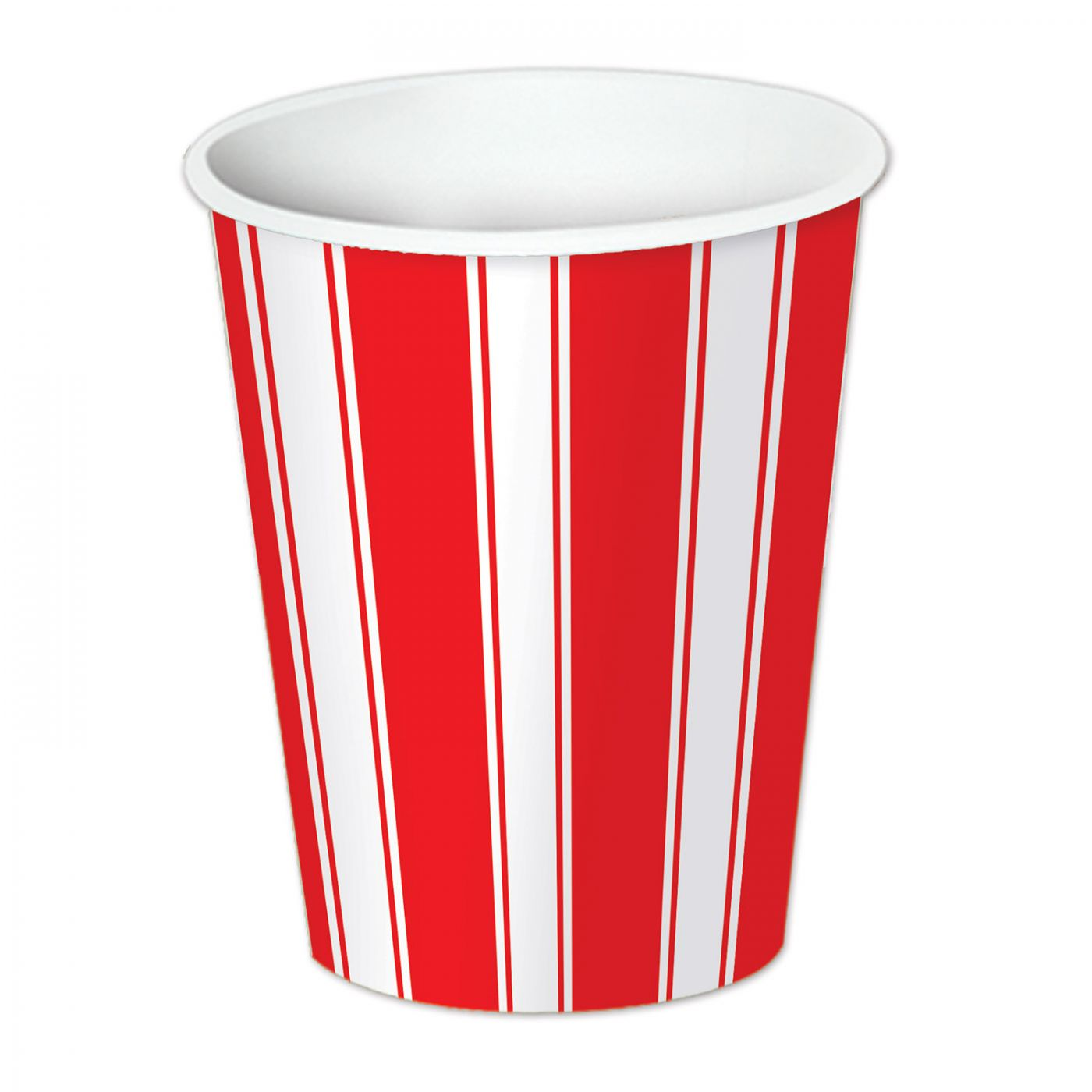 Red & White Stripes Beverage Cups image