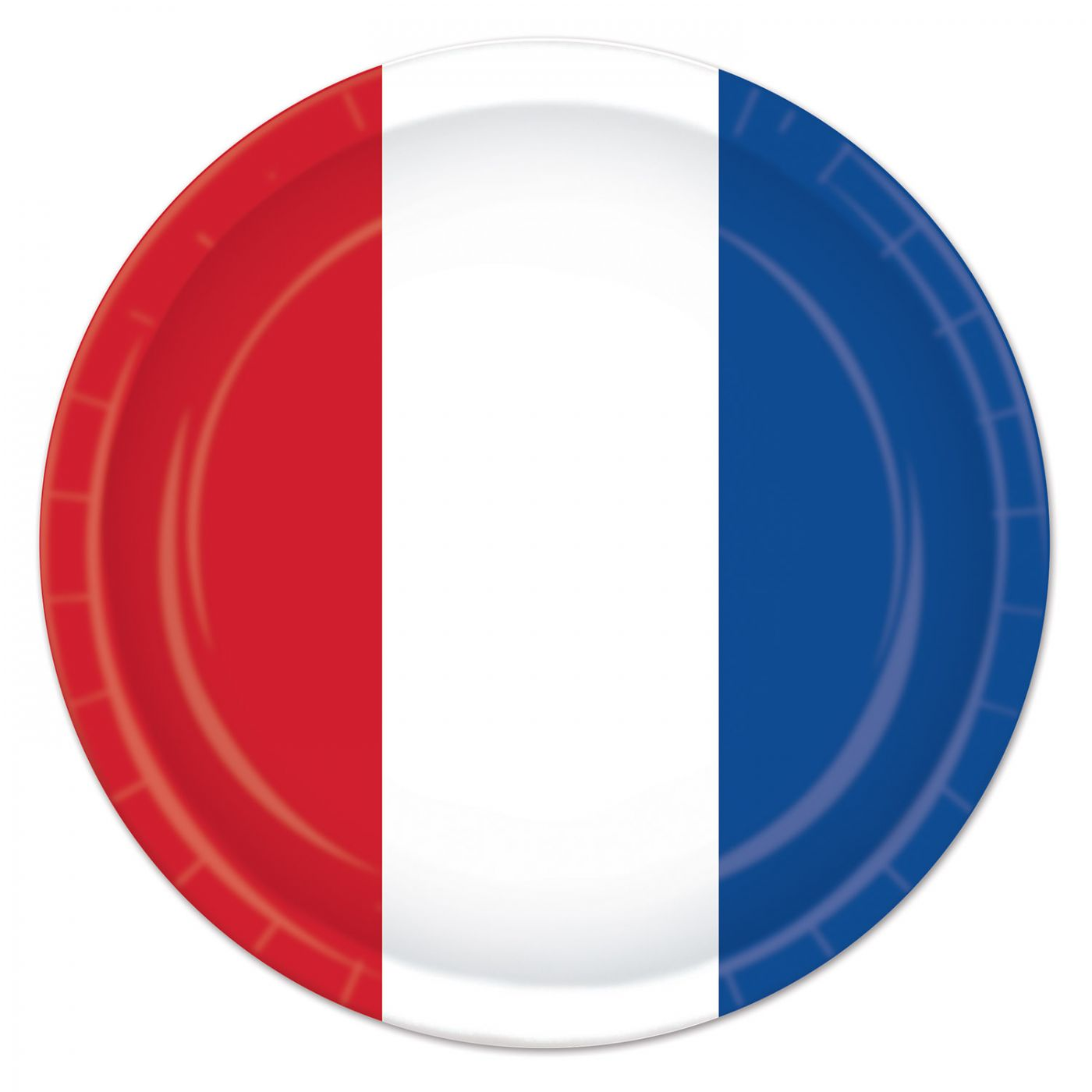 Red, White & Blue Plates image