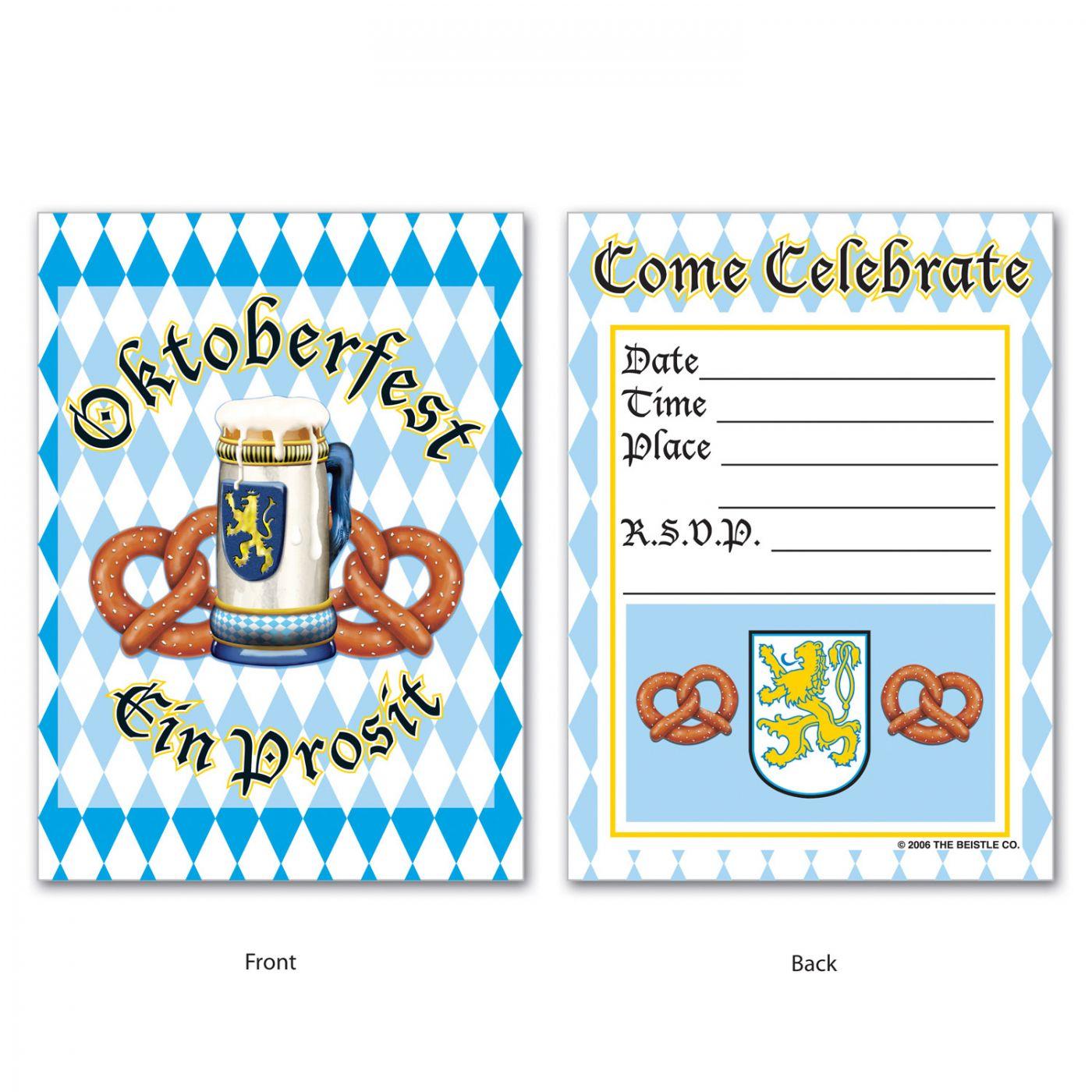 Oktoberfest Invitations image
