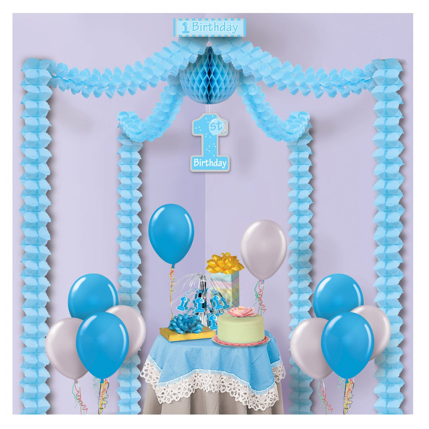 Image of 1st Birthday Party Canopy (6)