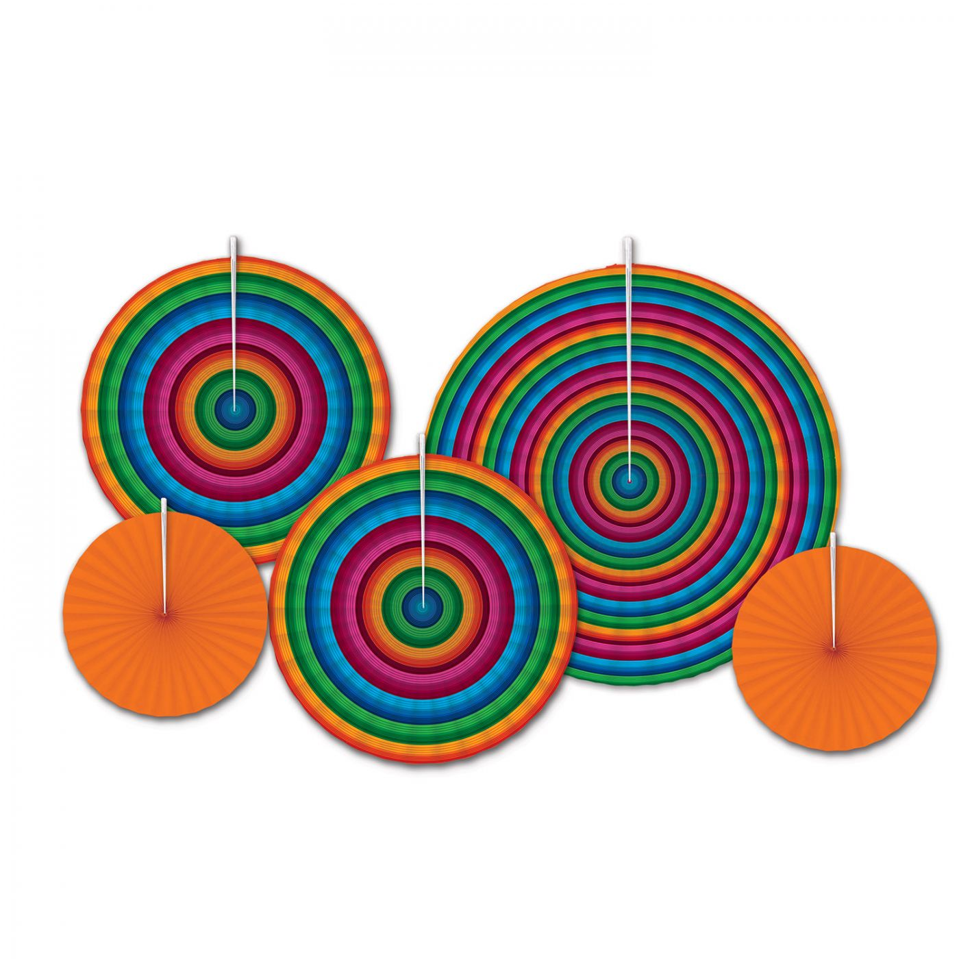 Image of Fiesta Accordion Paper Fans
