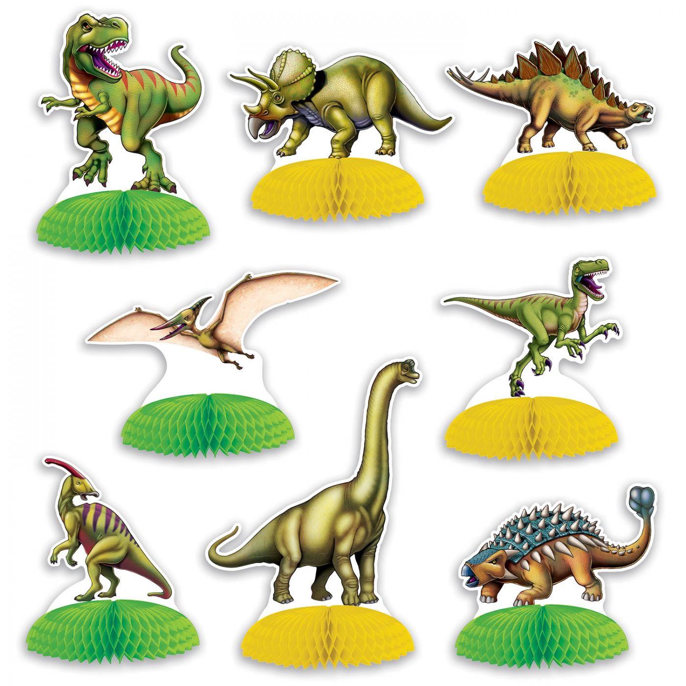 Dinosaur Mini Centerpieces image