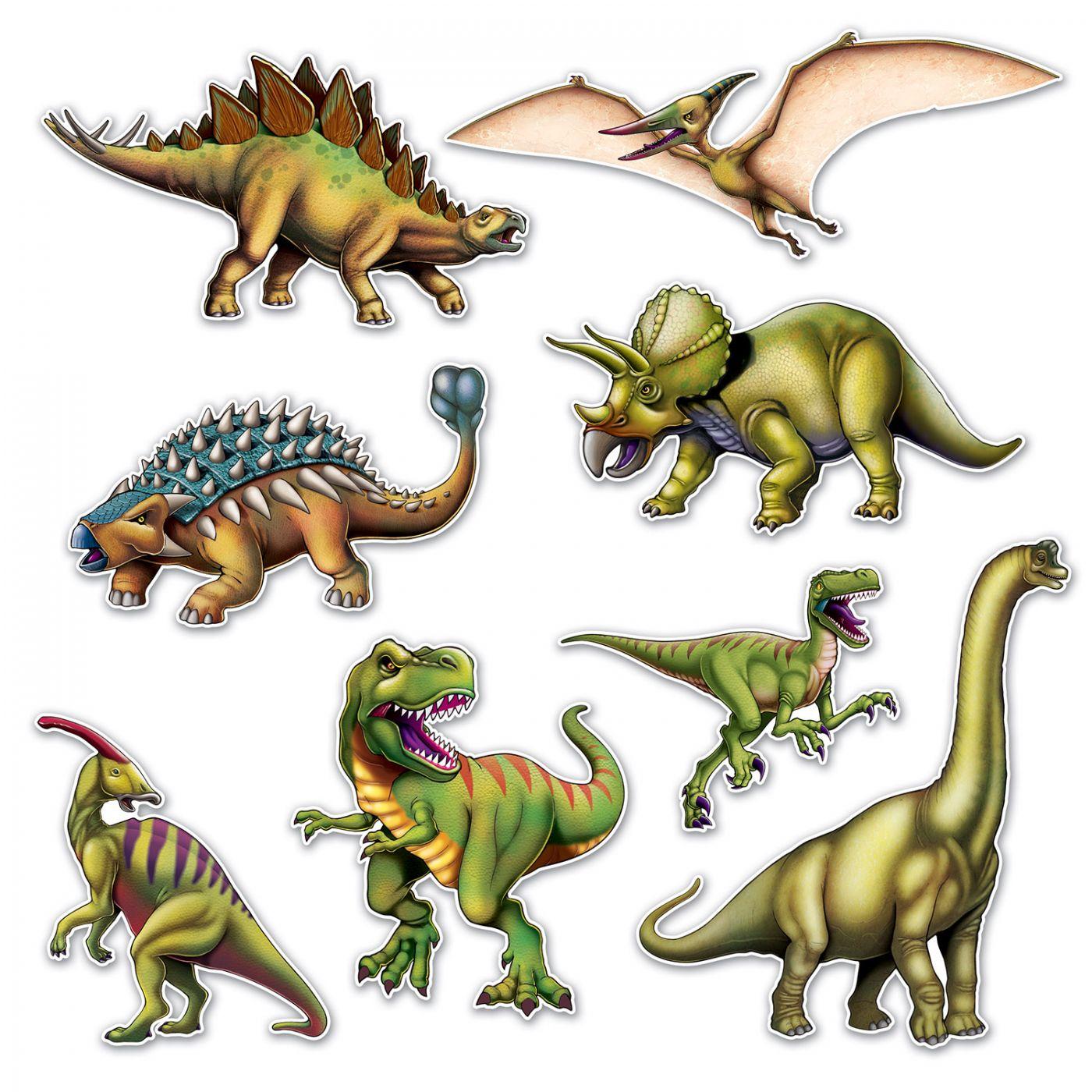 Dinosaur Cutouts image