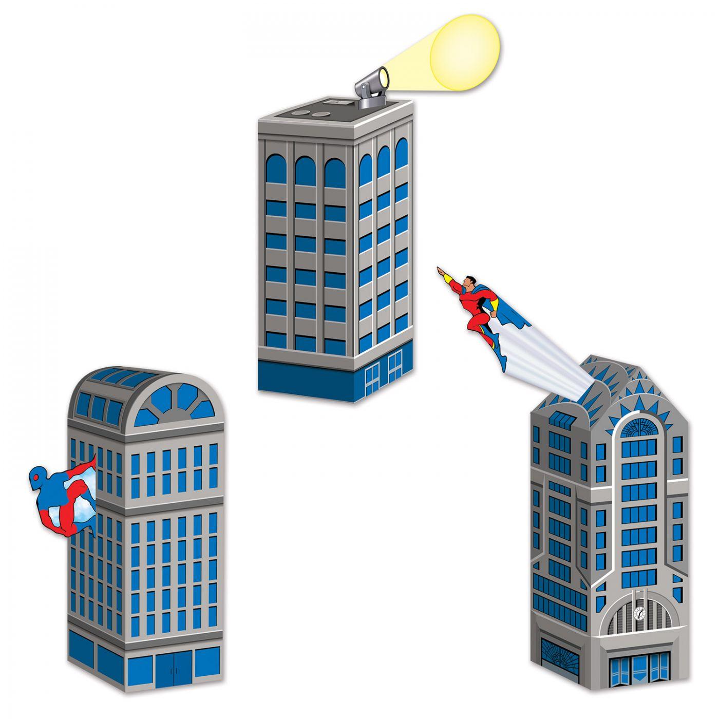 Hero Cityscape Favor Boxes image