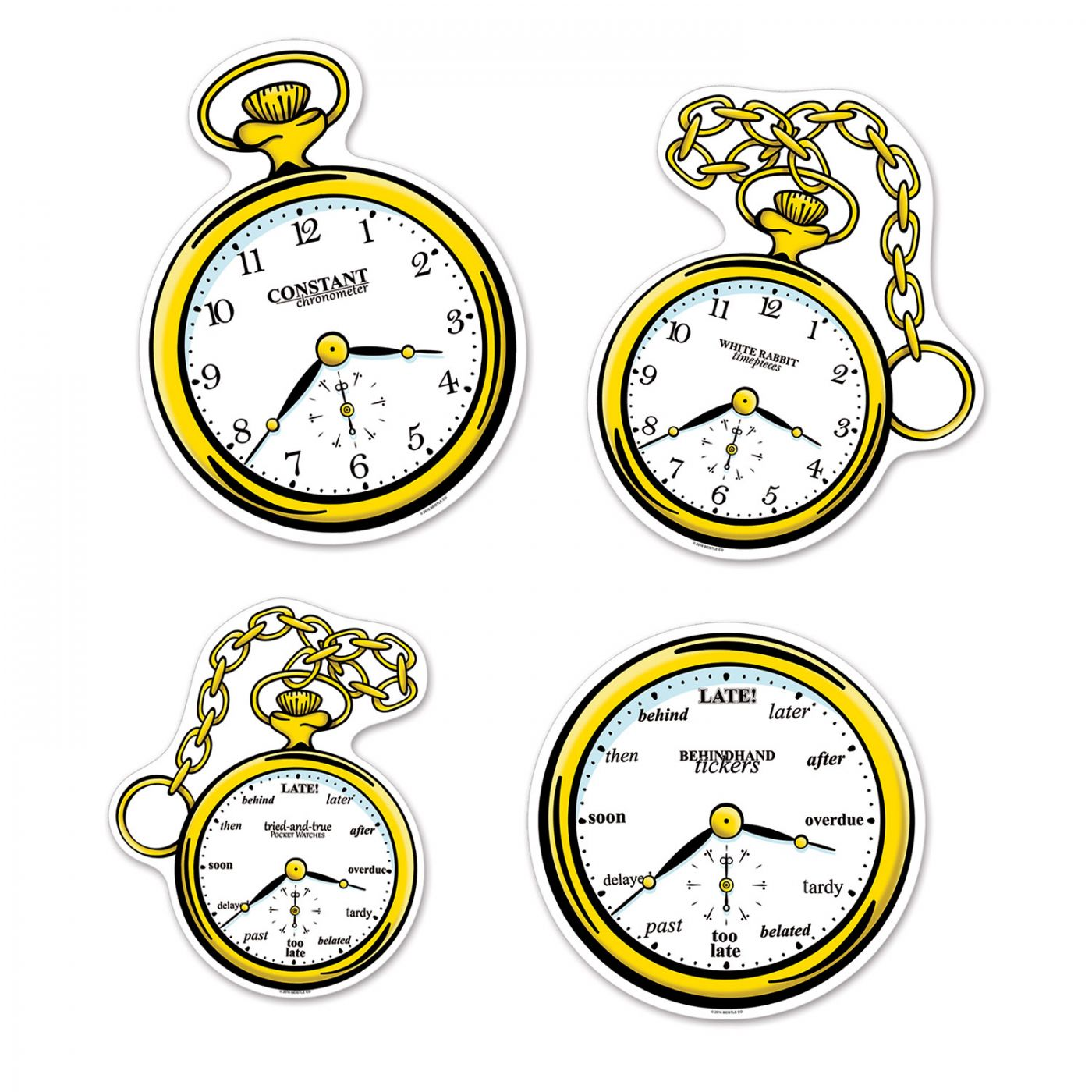 Clock Cutouts image