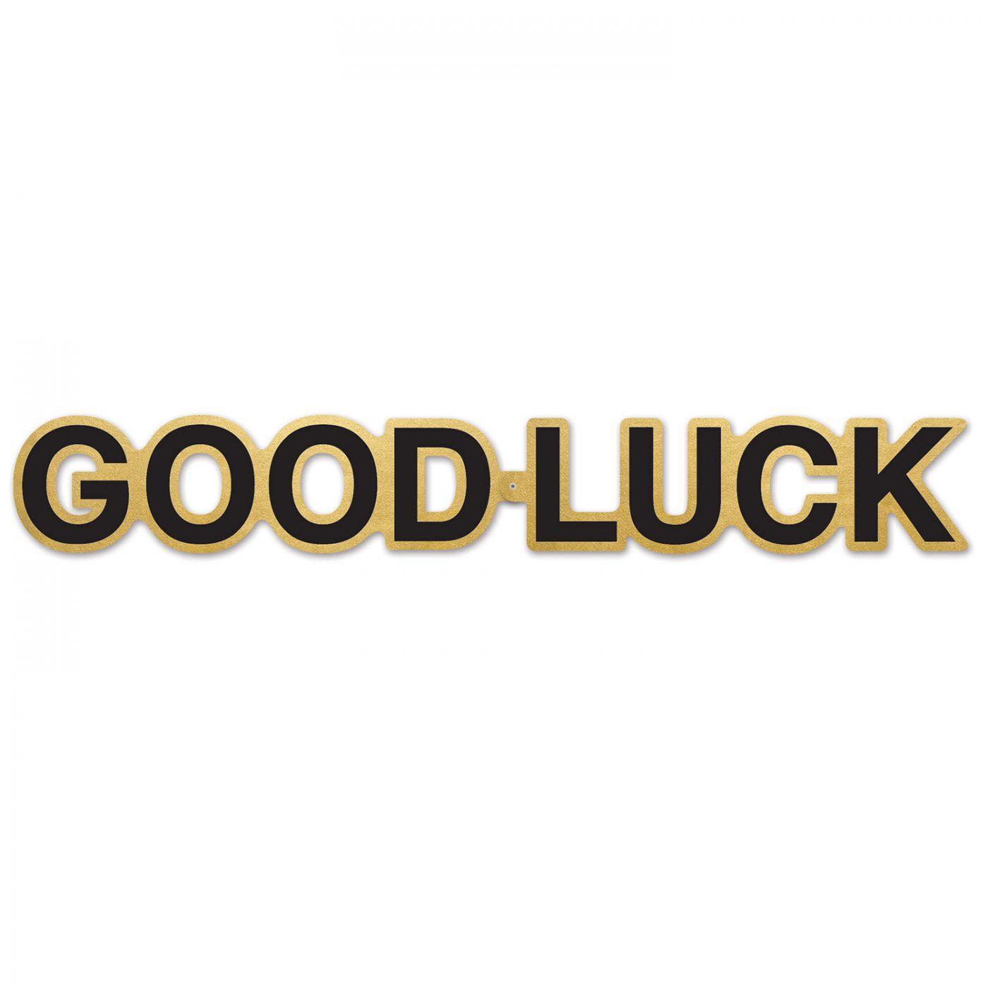 Good Luck Foil Streamer image