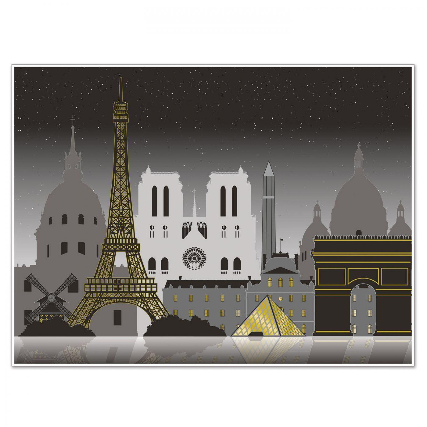 Paris Cityscape Insta-Mural (6) image