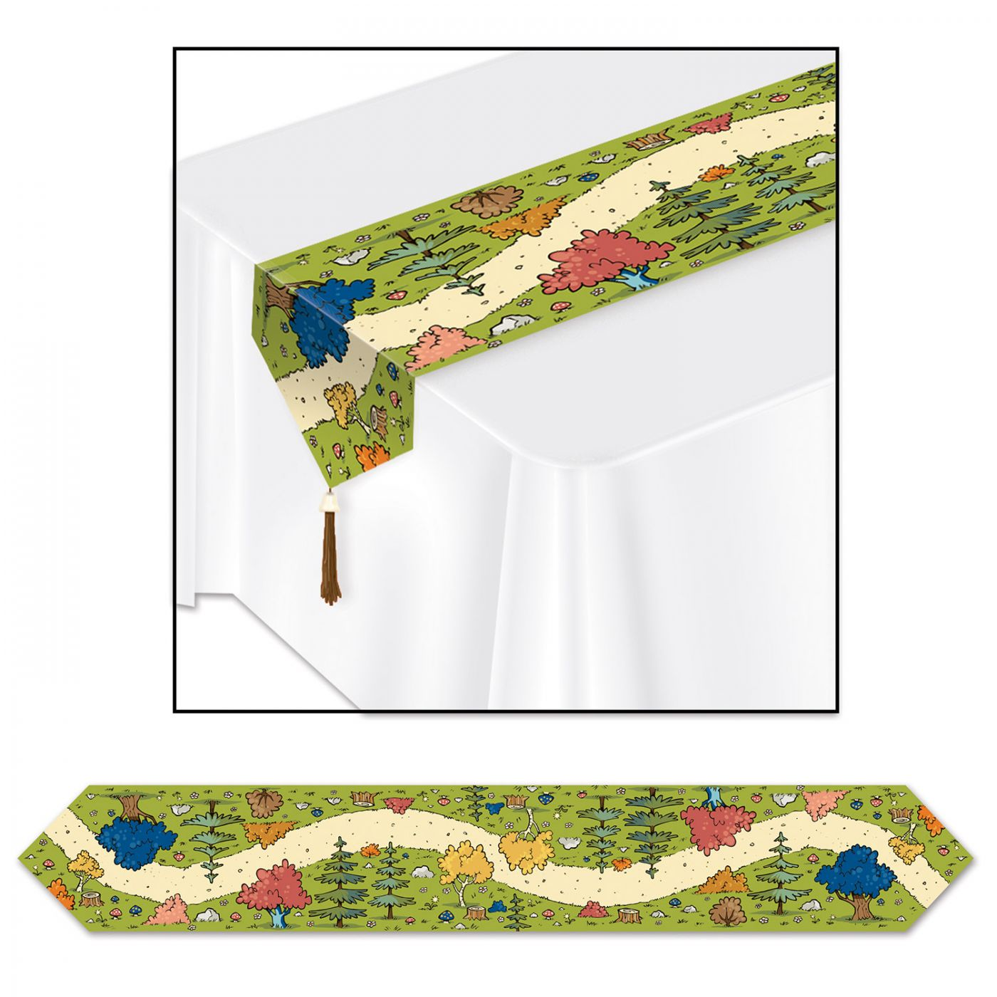 Woodland Friends Table Runner image