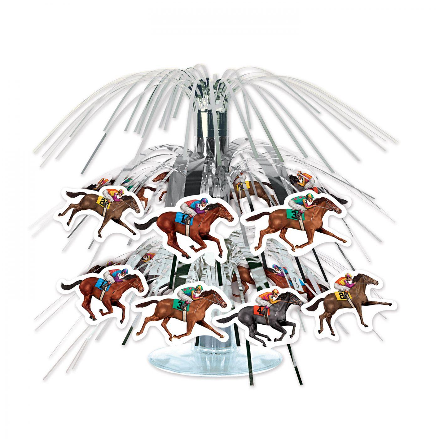 Image of Horse Racing Mini Cascade Centerpiece