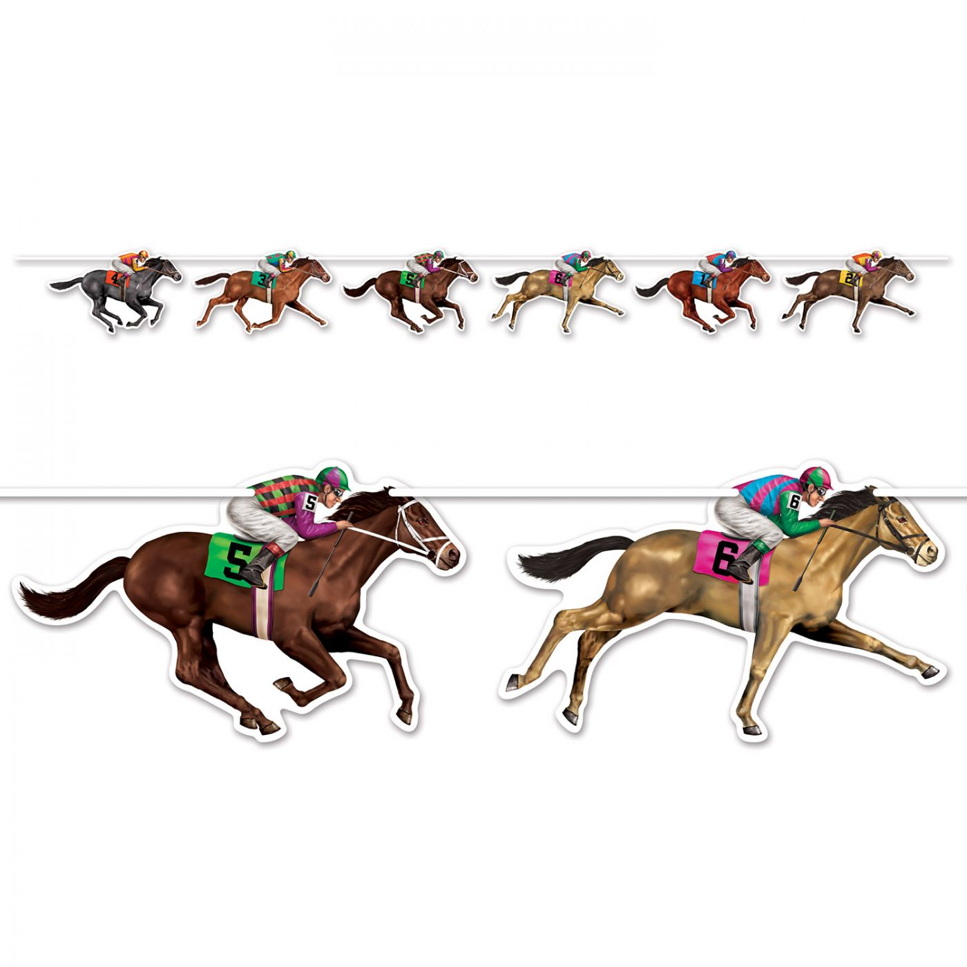 Horse Racing Streamer image