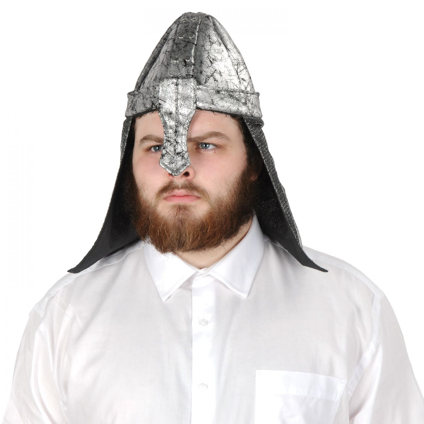 Fabric Black Knight Helmet (6) image