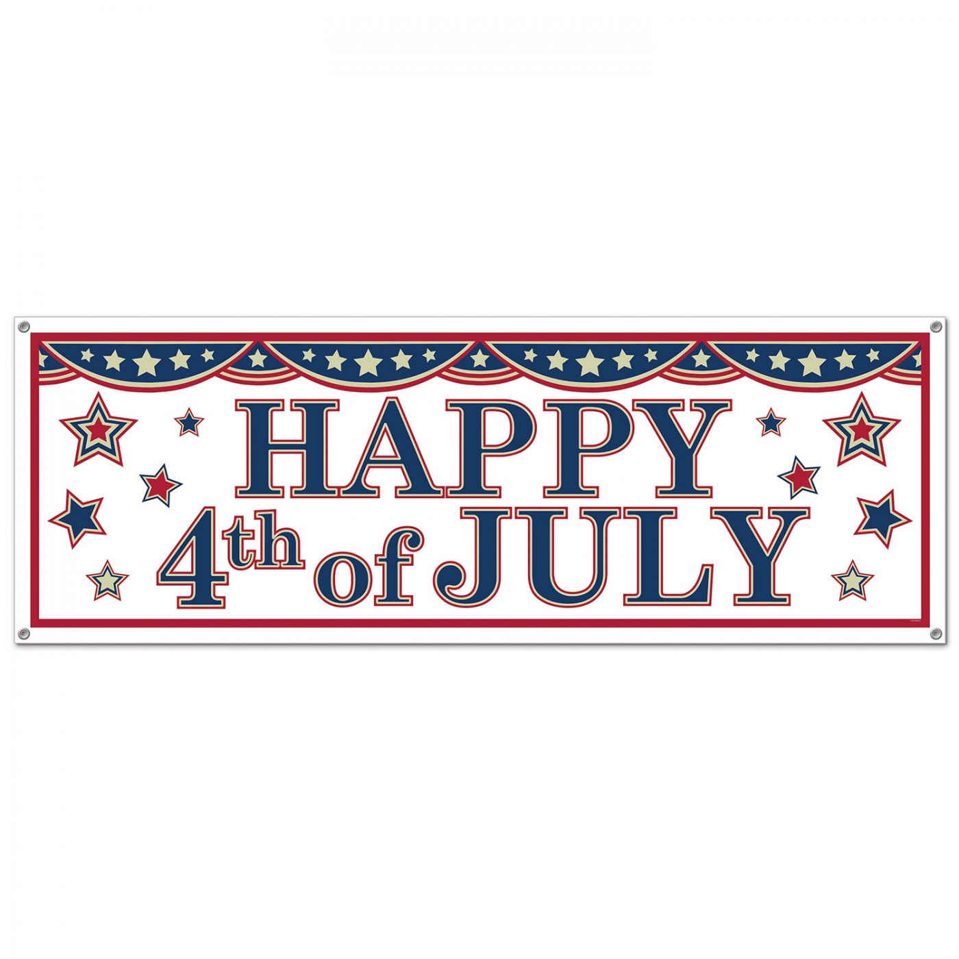 Image of 4th Of July Sign Banner