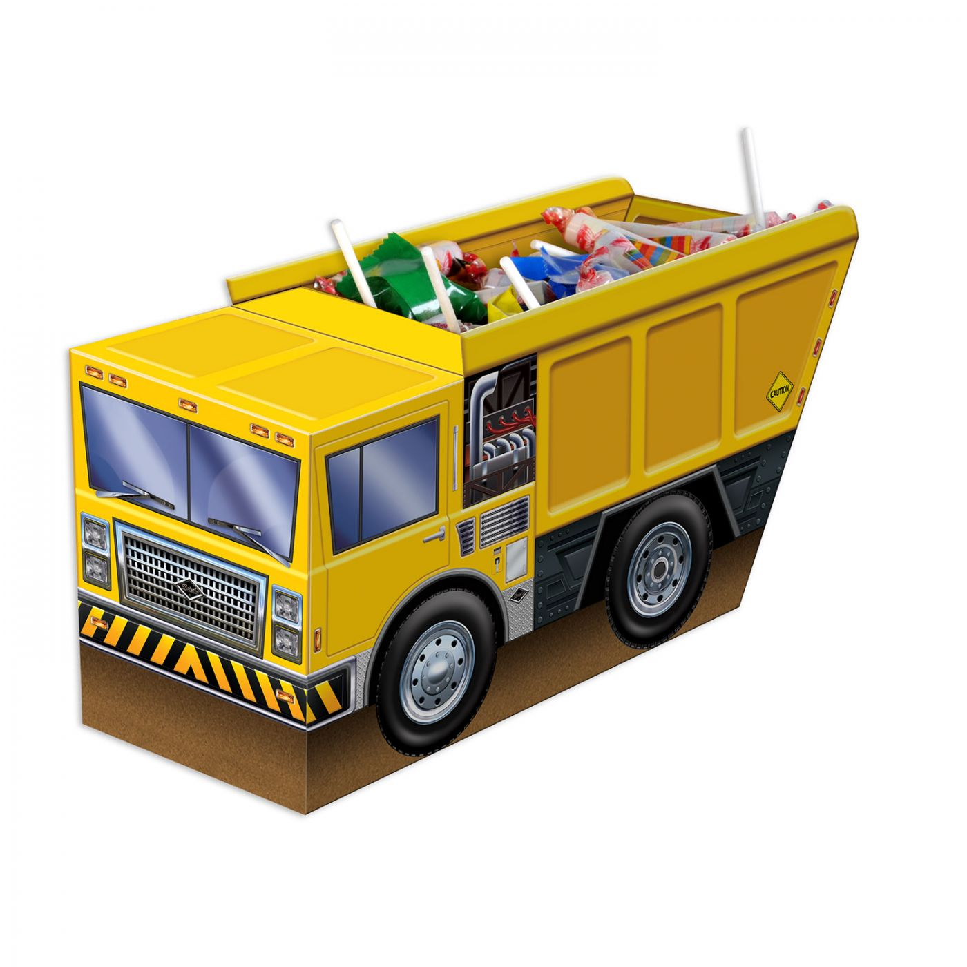 3-D Dump Truck Centerpiece image