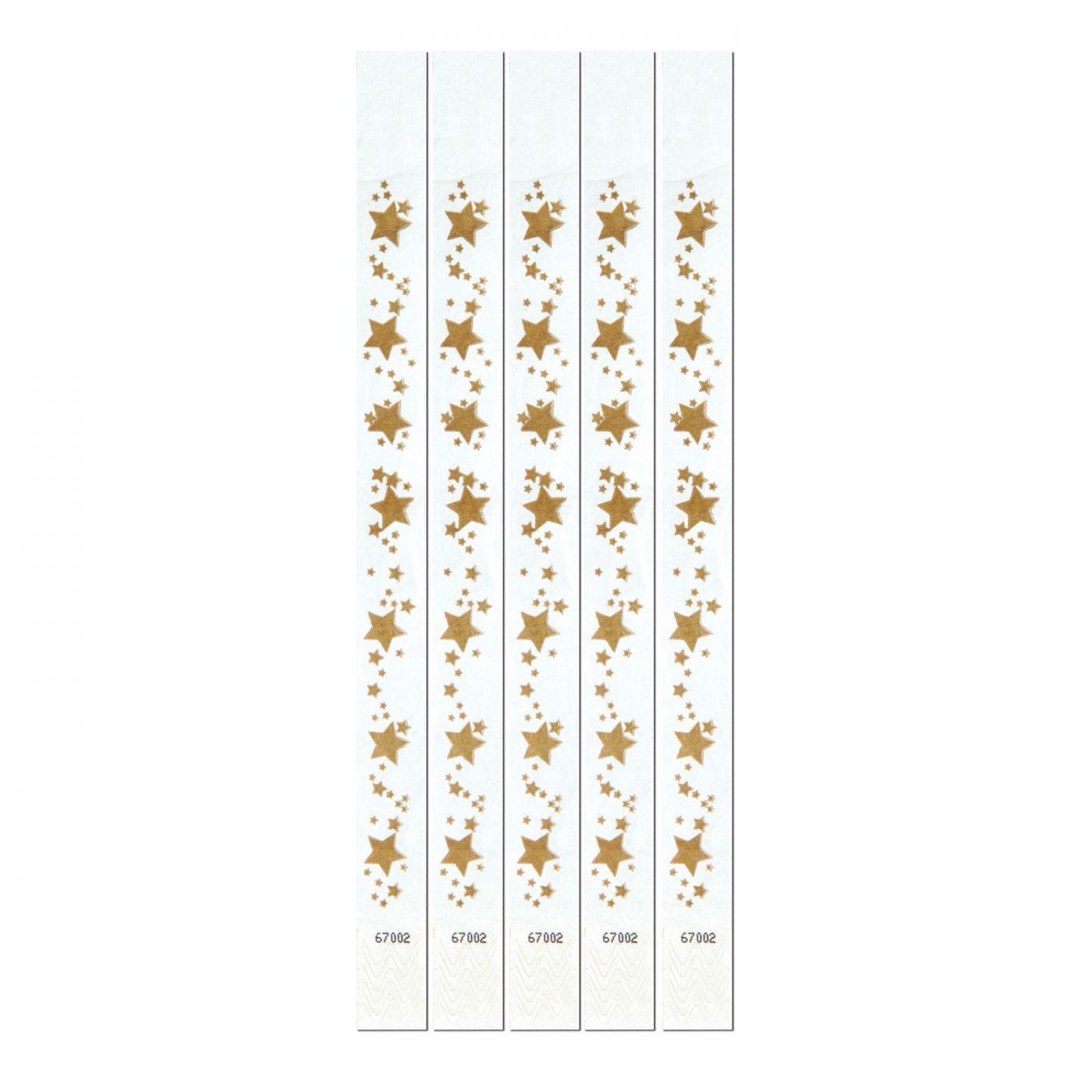 Gold Star Tyvek Wristbands (6) image
