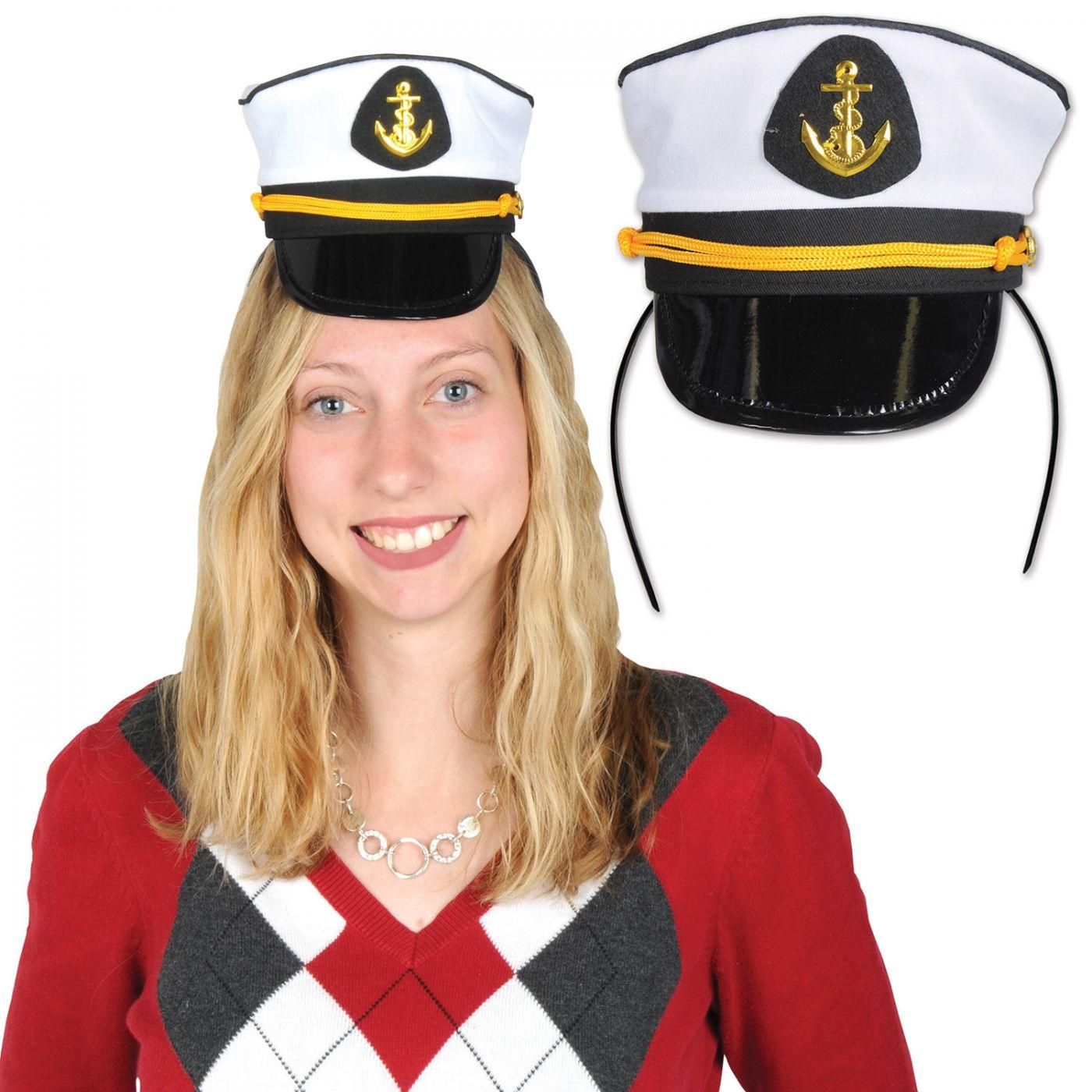 Yacht Captain's Cap Headband image