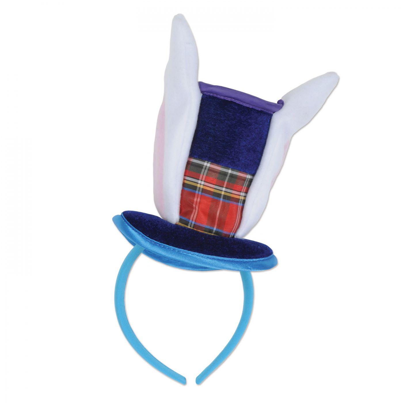 Bunny Top Hat & Ears Headband image