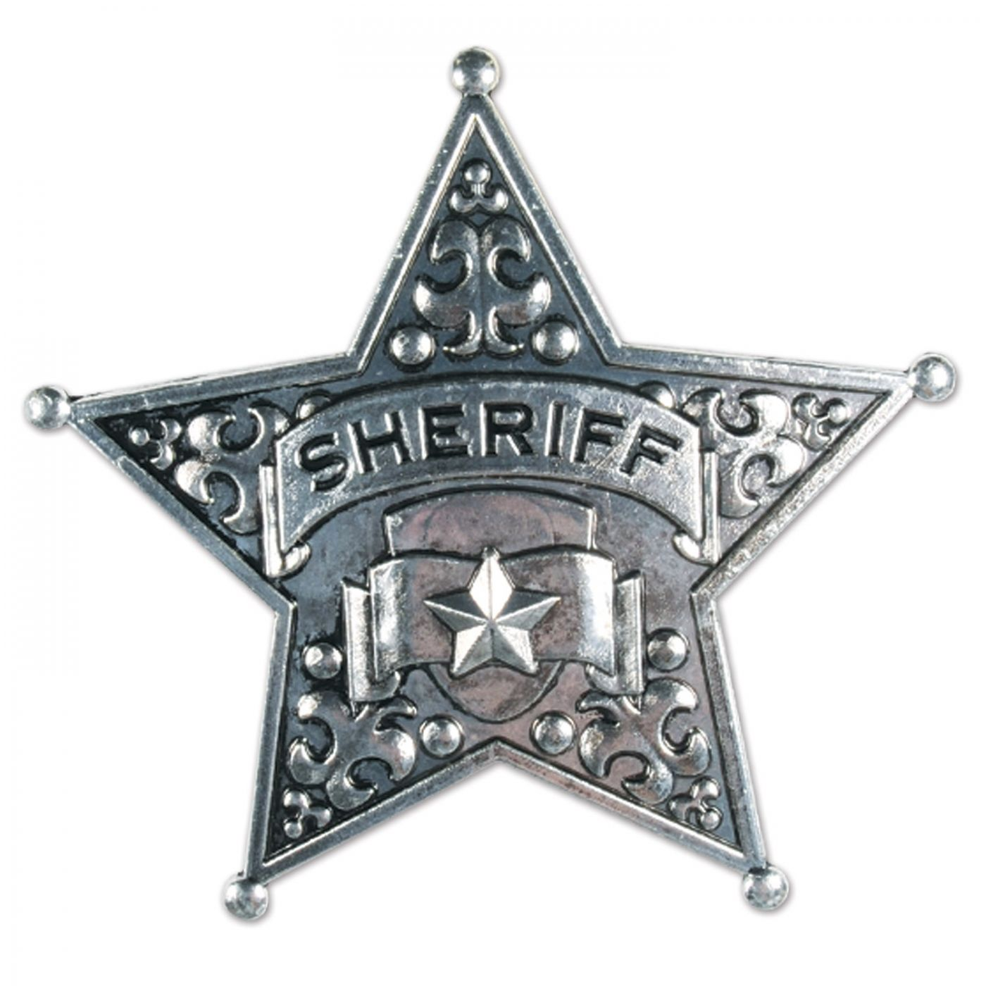 Metal Sheriff Badge image