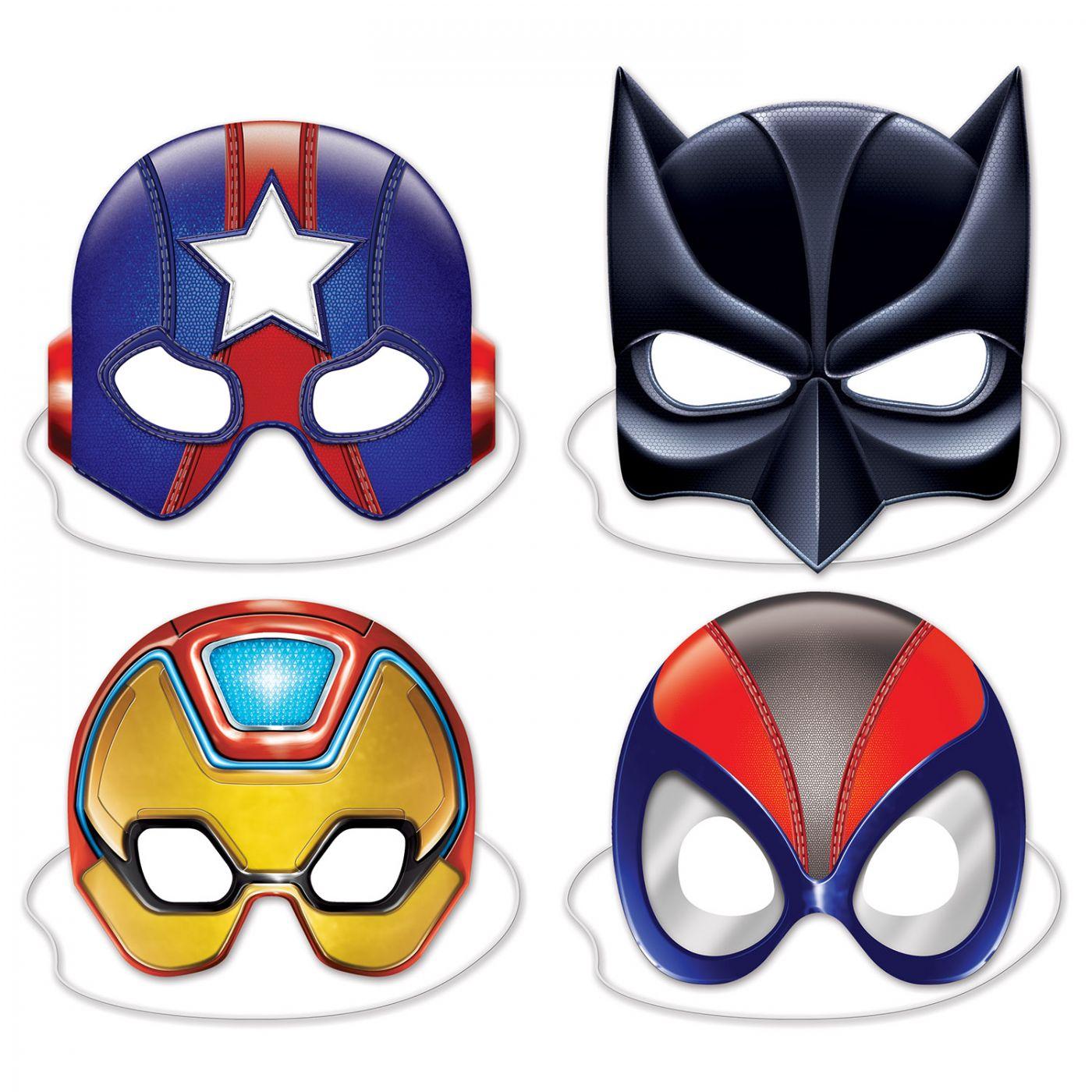 Image of Deluxe Hero Masks