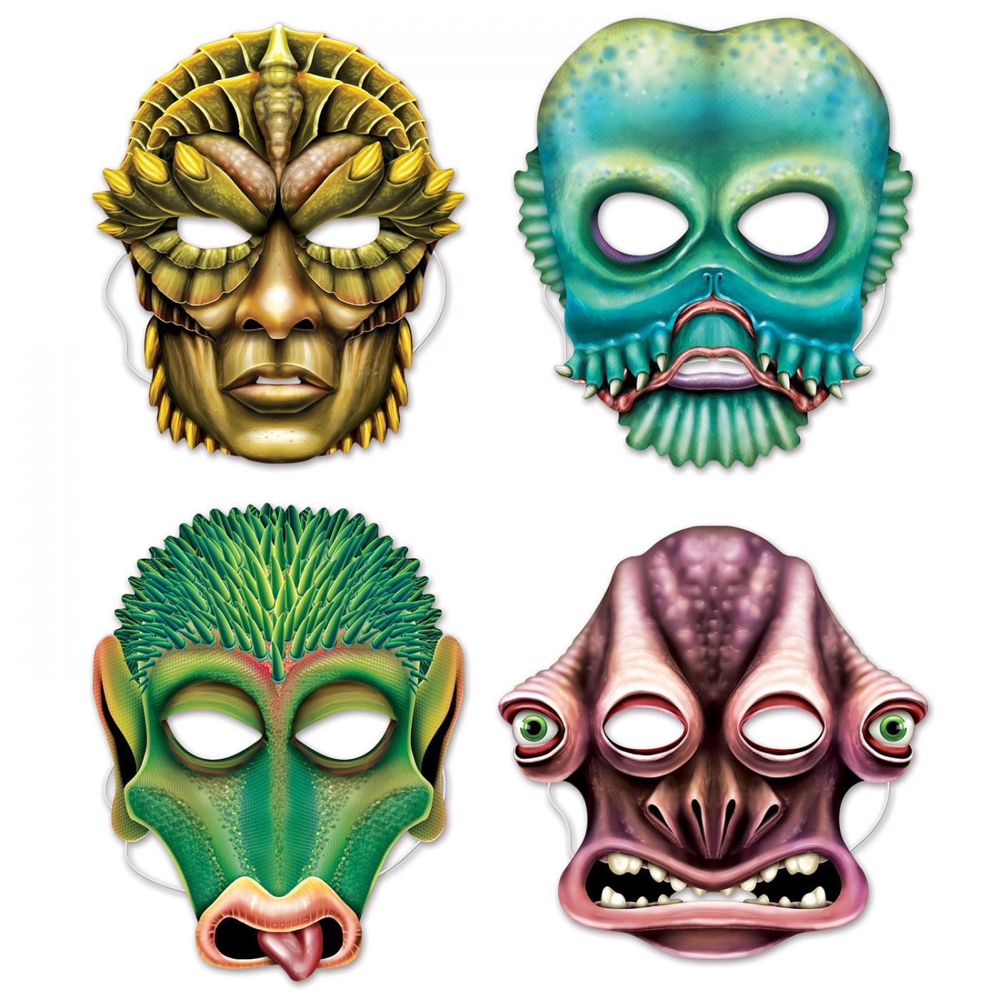 Image of Alien Masks