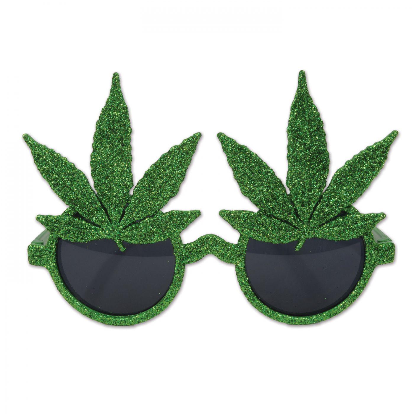 Glittered Weed Glasses (6) image