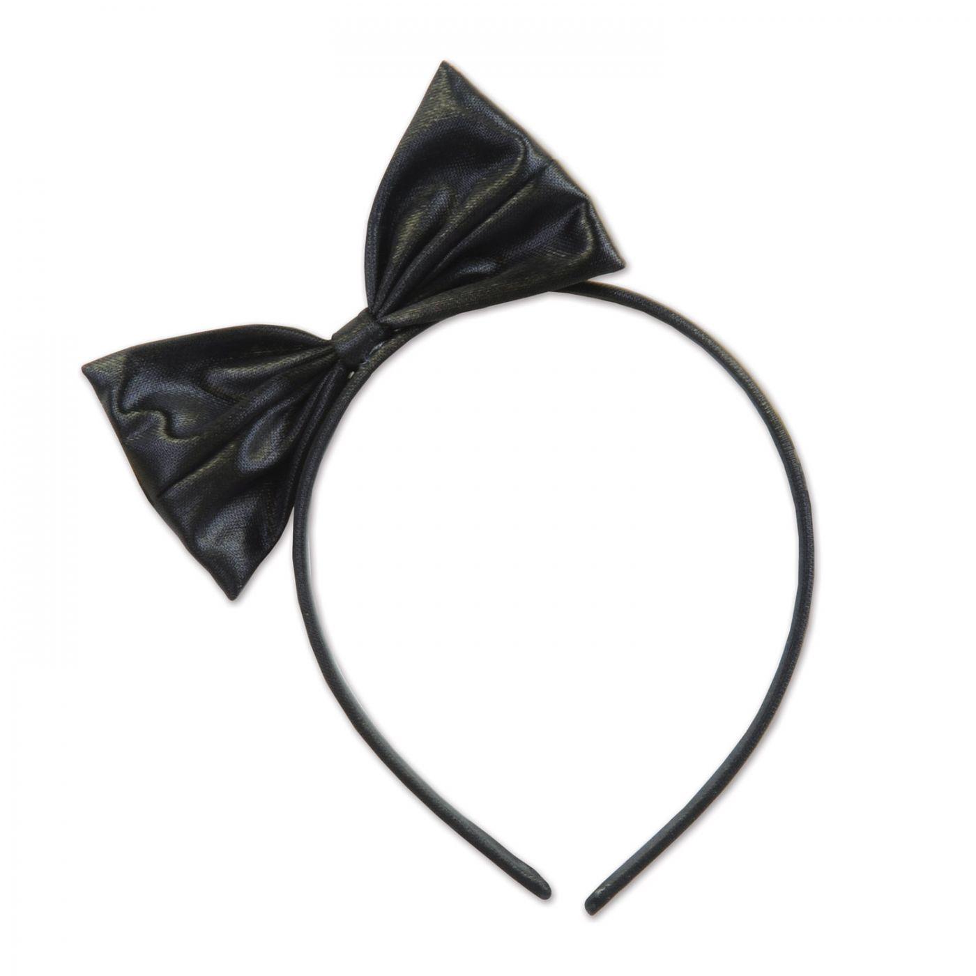 Image of Black Bow Headband