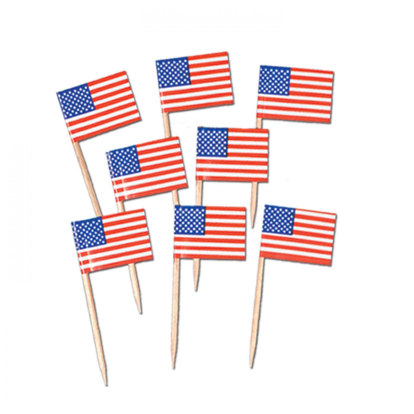 Pkgd U S Flag Picks image