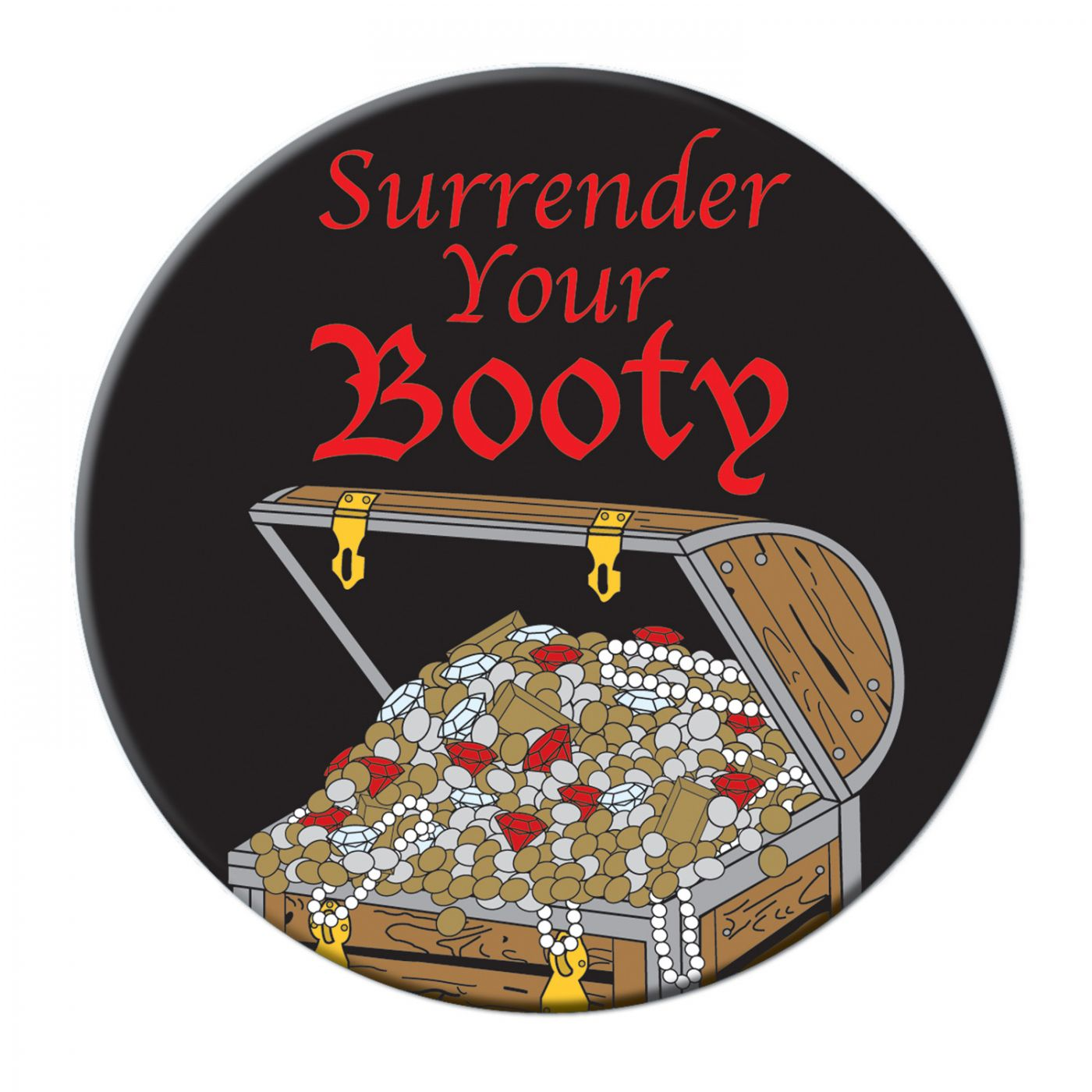 Surrender Your Booty Button image