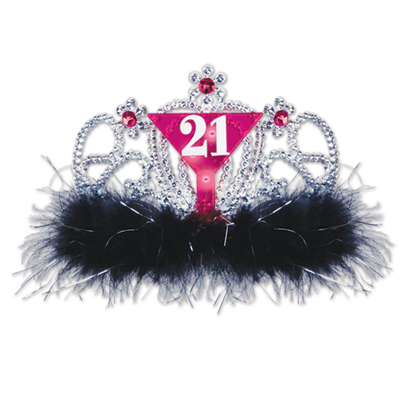 Plastic Light-Up  21  Tiara (6) image