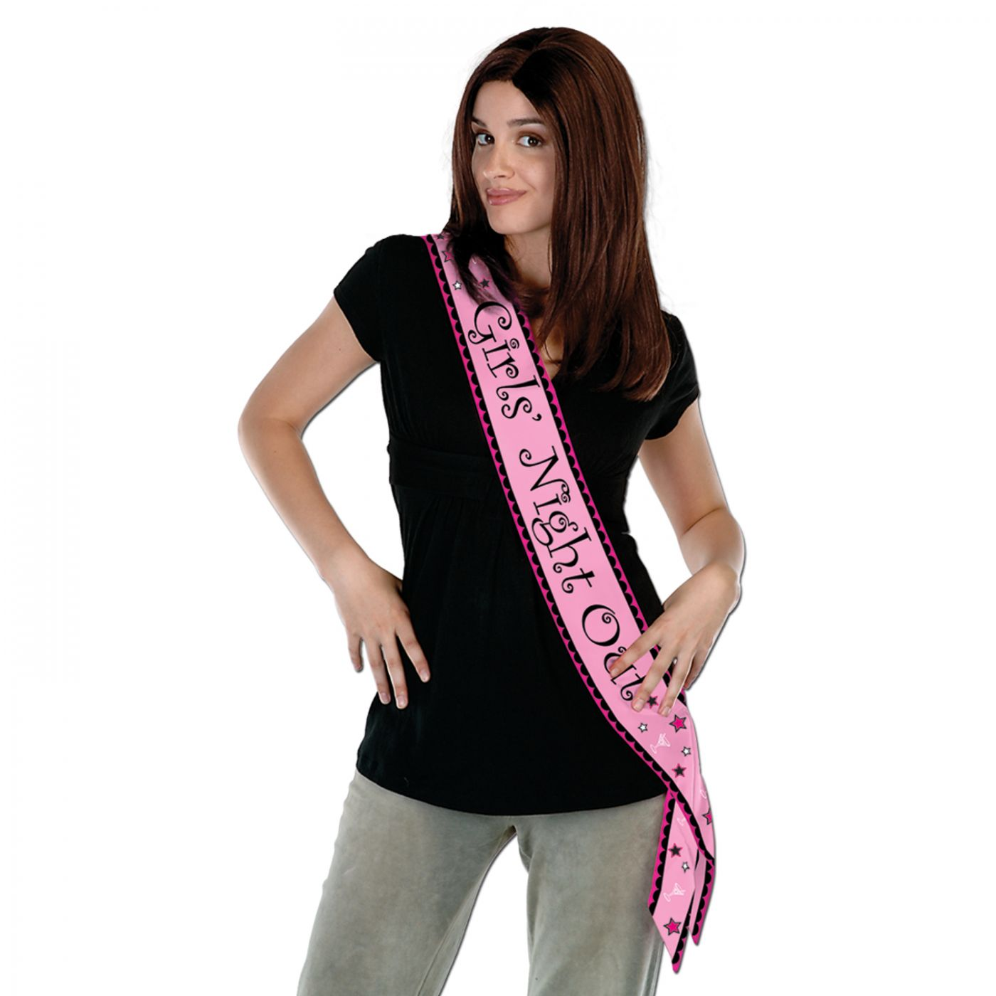 Girls' Night Out Satin Sash (6) image