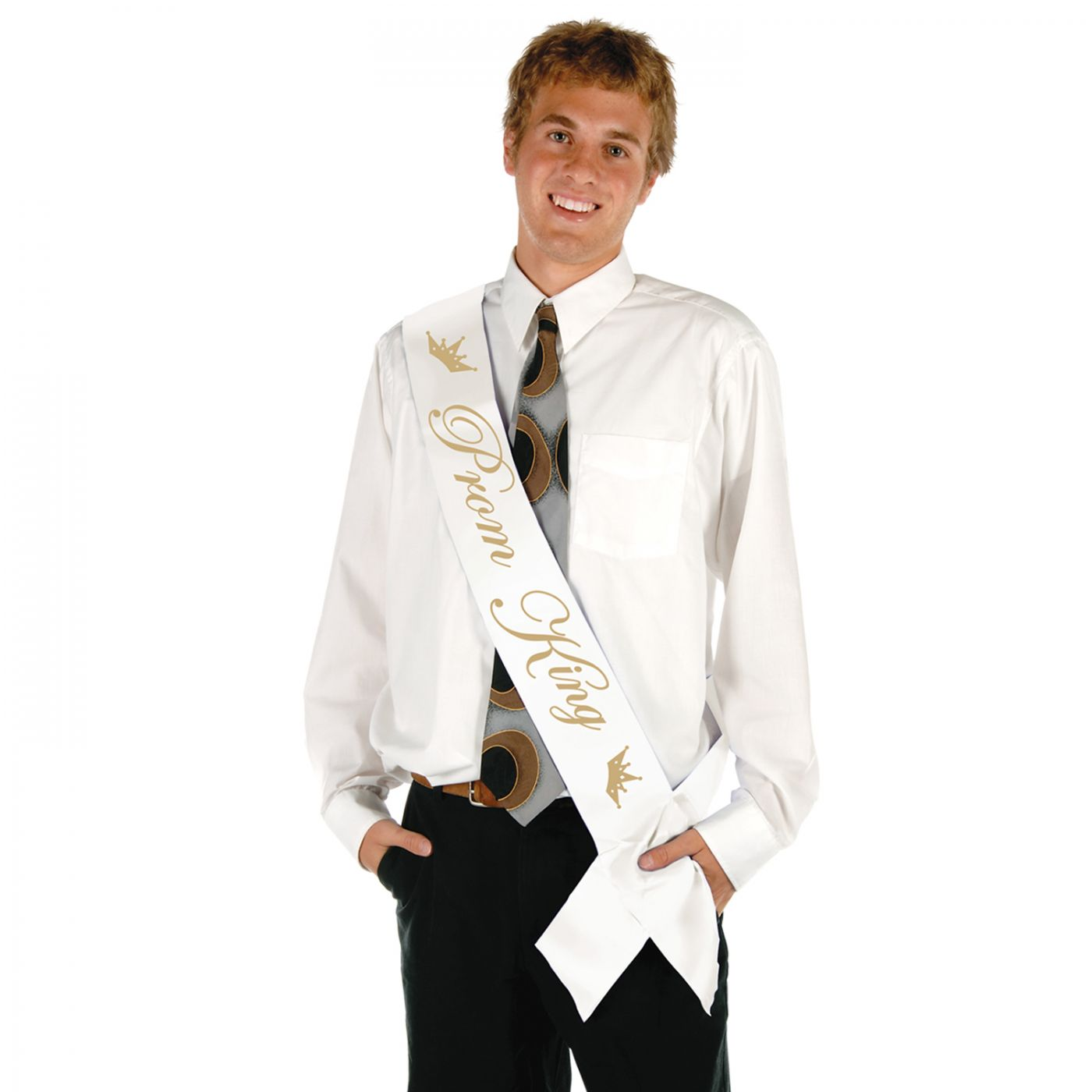 Prom King Satin Sash (6) image