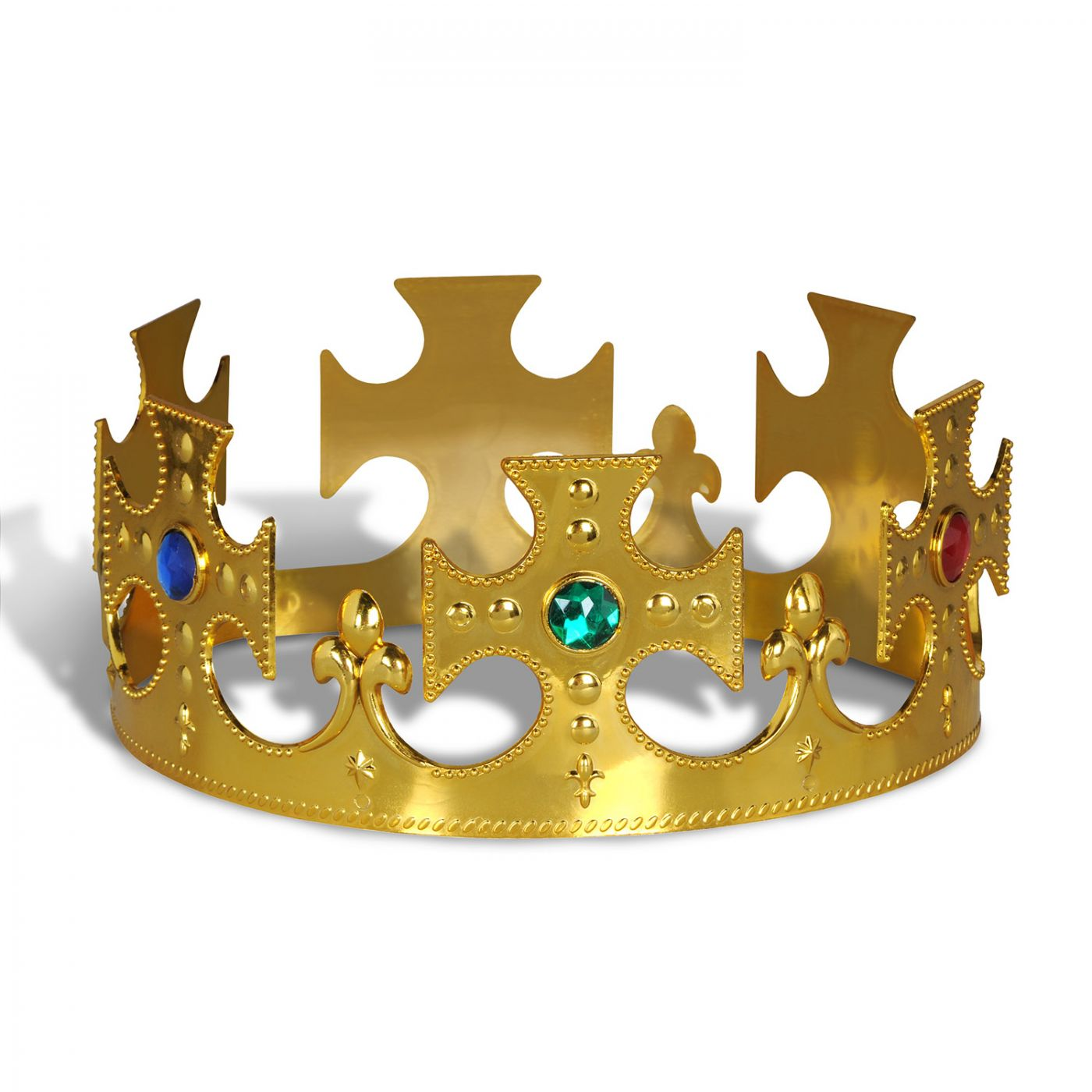 Plastic Jeweled King's Crown image