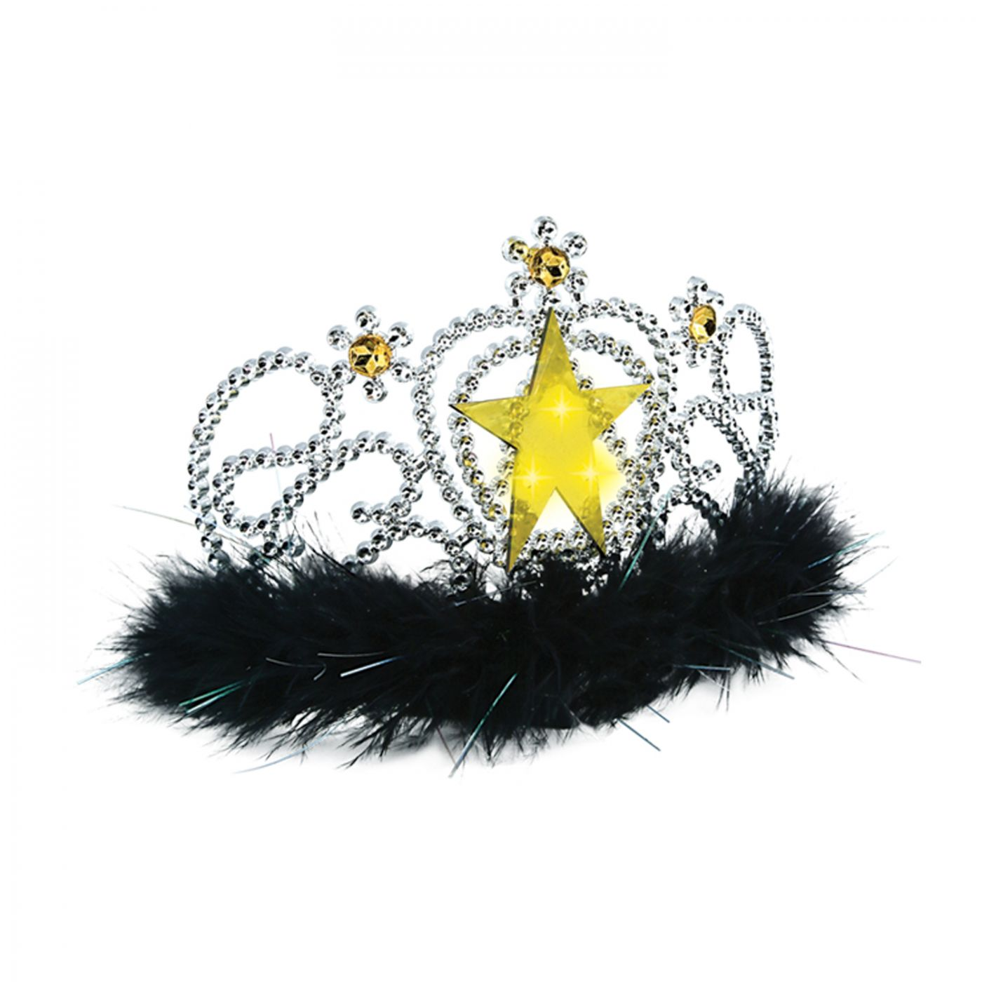 Plastic Light-Up Star Tiara (6) image