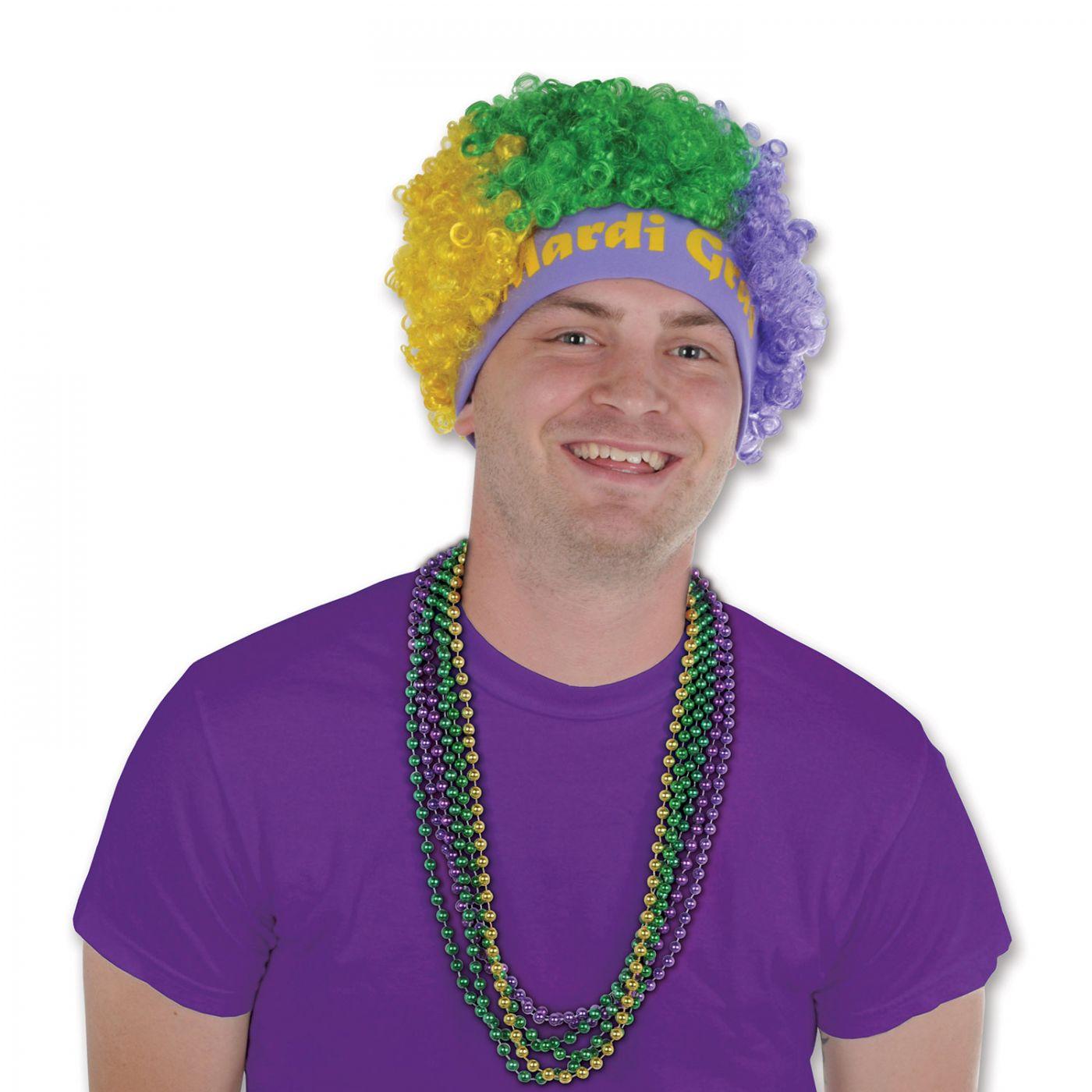 Mardi Gras Wig image
