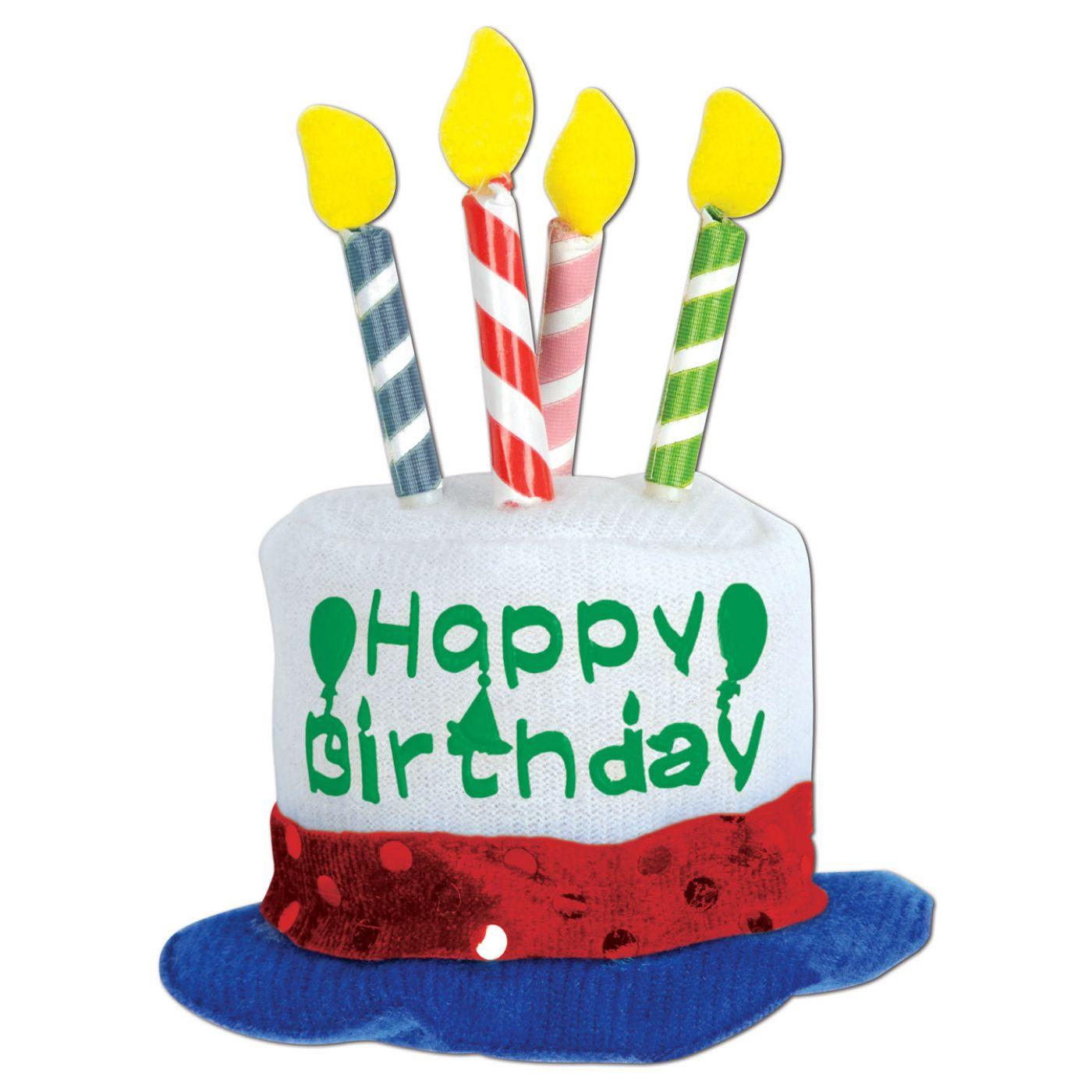 Happy Birthday Cake Hair Clip image