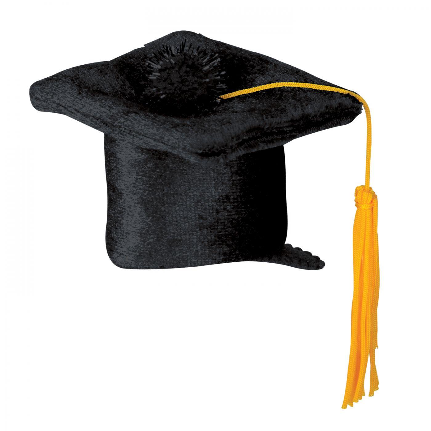 Grad Cap Hair Clip image