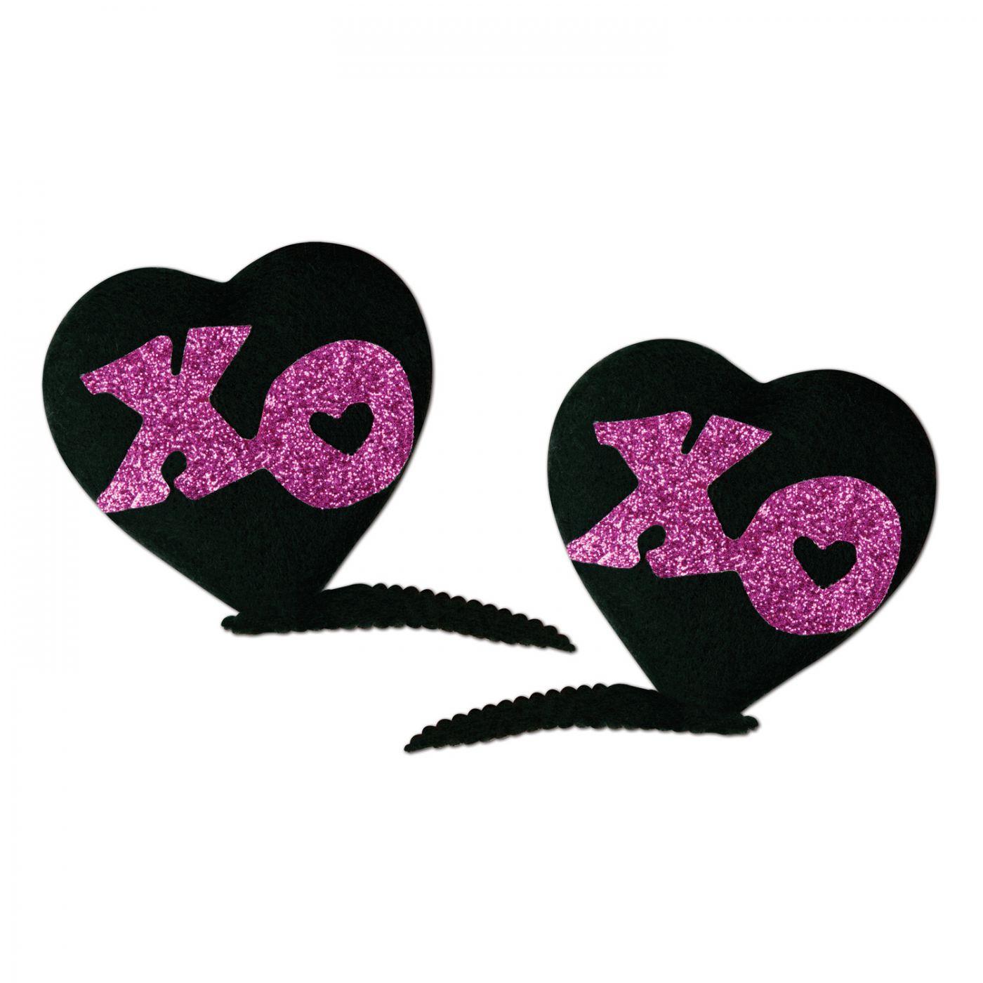 XOXO Hair Clips image