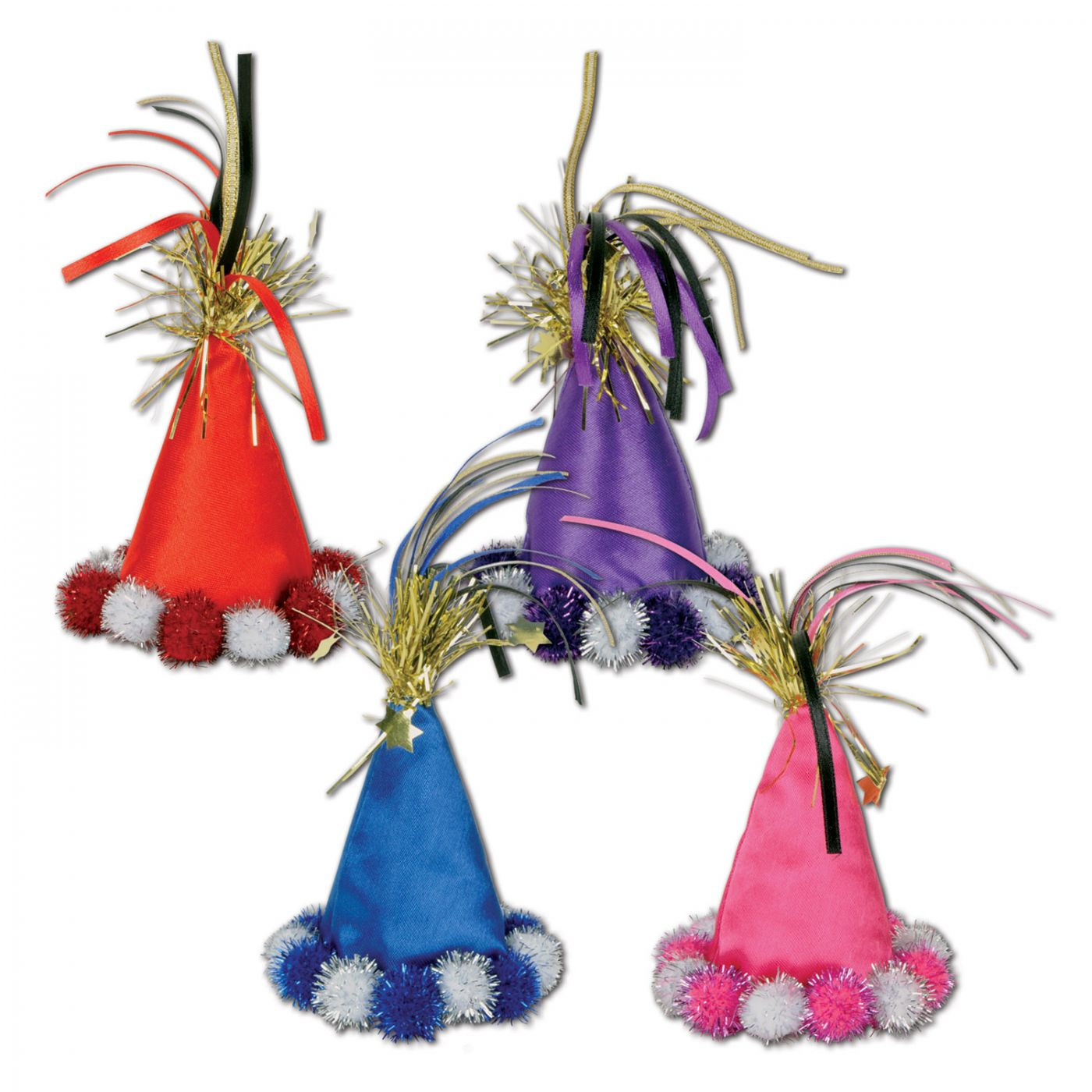 Cone Hat Hair Clips image