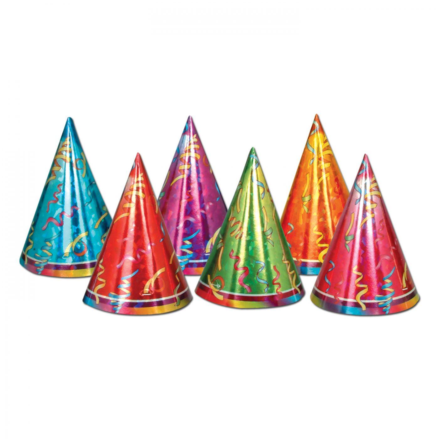 Prismatic Cone Hats image