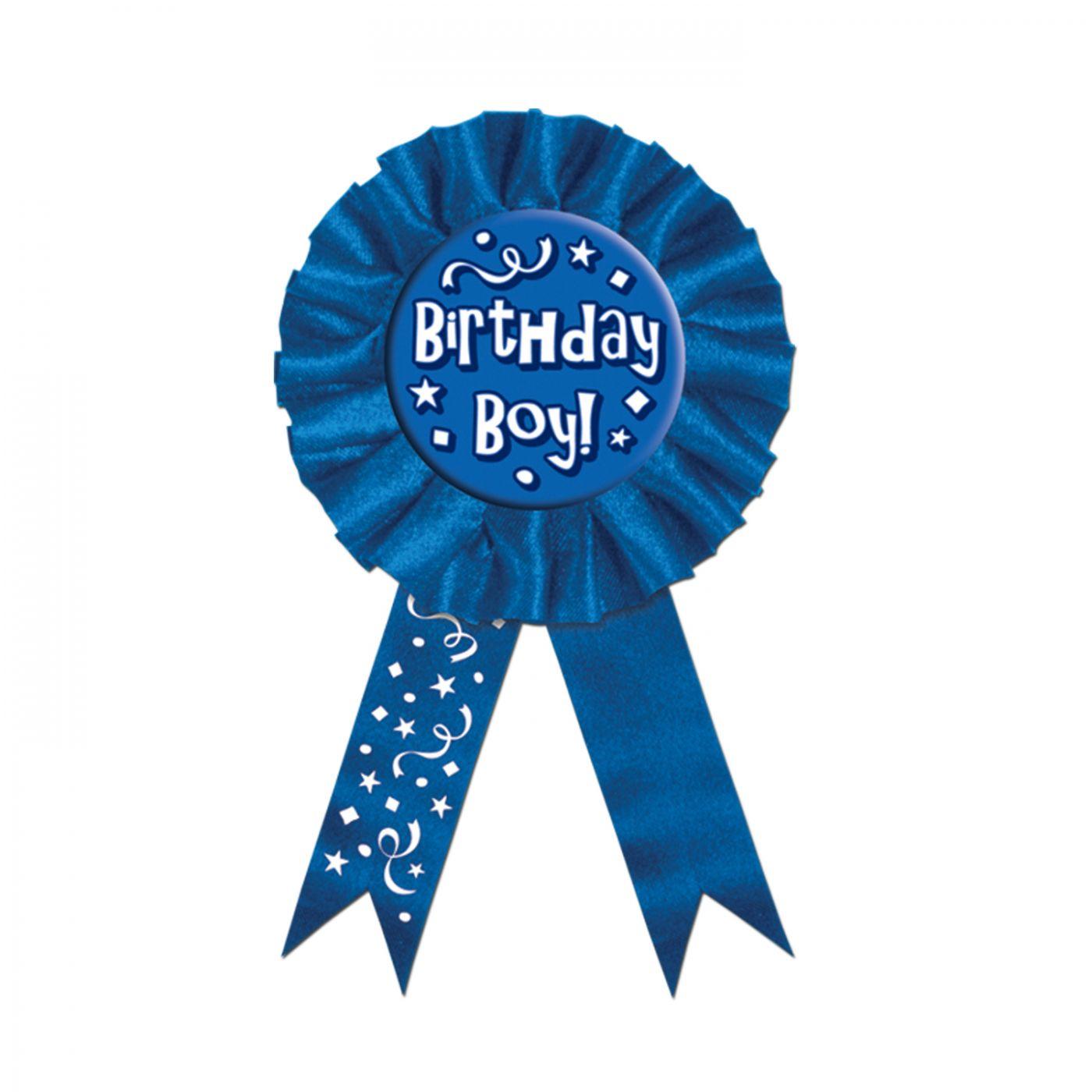 Image of Birthday Boy! Award Ribbon (6)