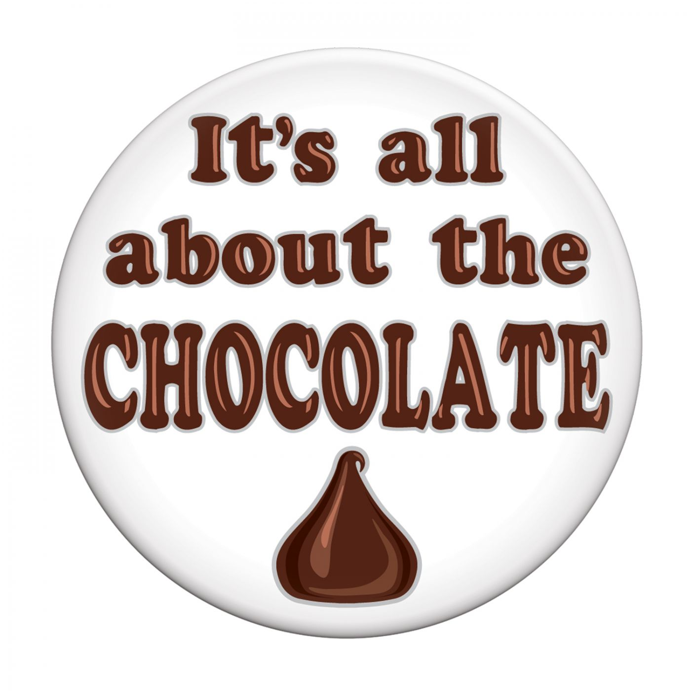 It's All About The Chocolate Button image