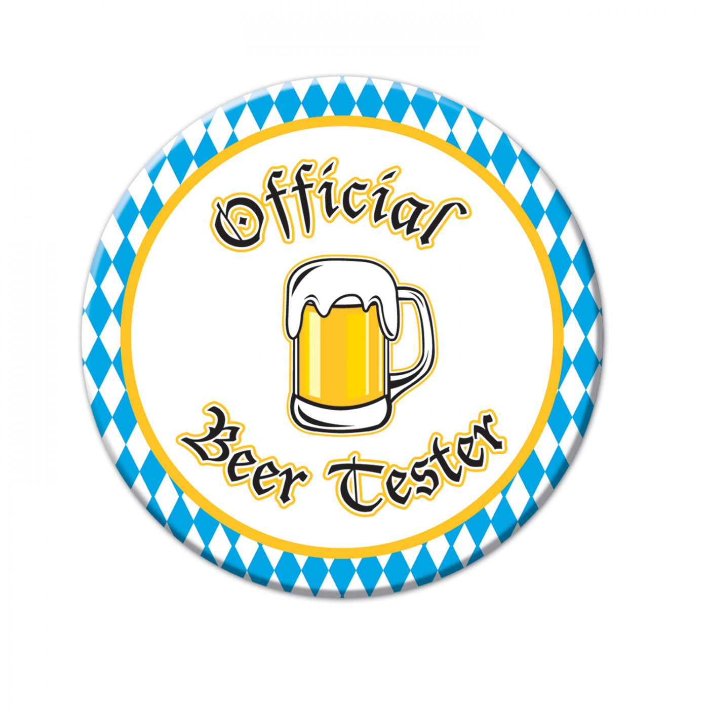 Official Beer Tester Button image