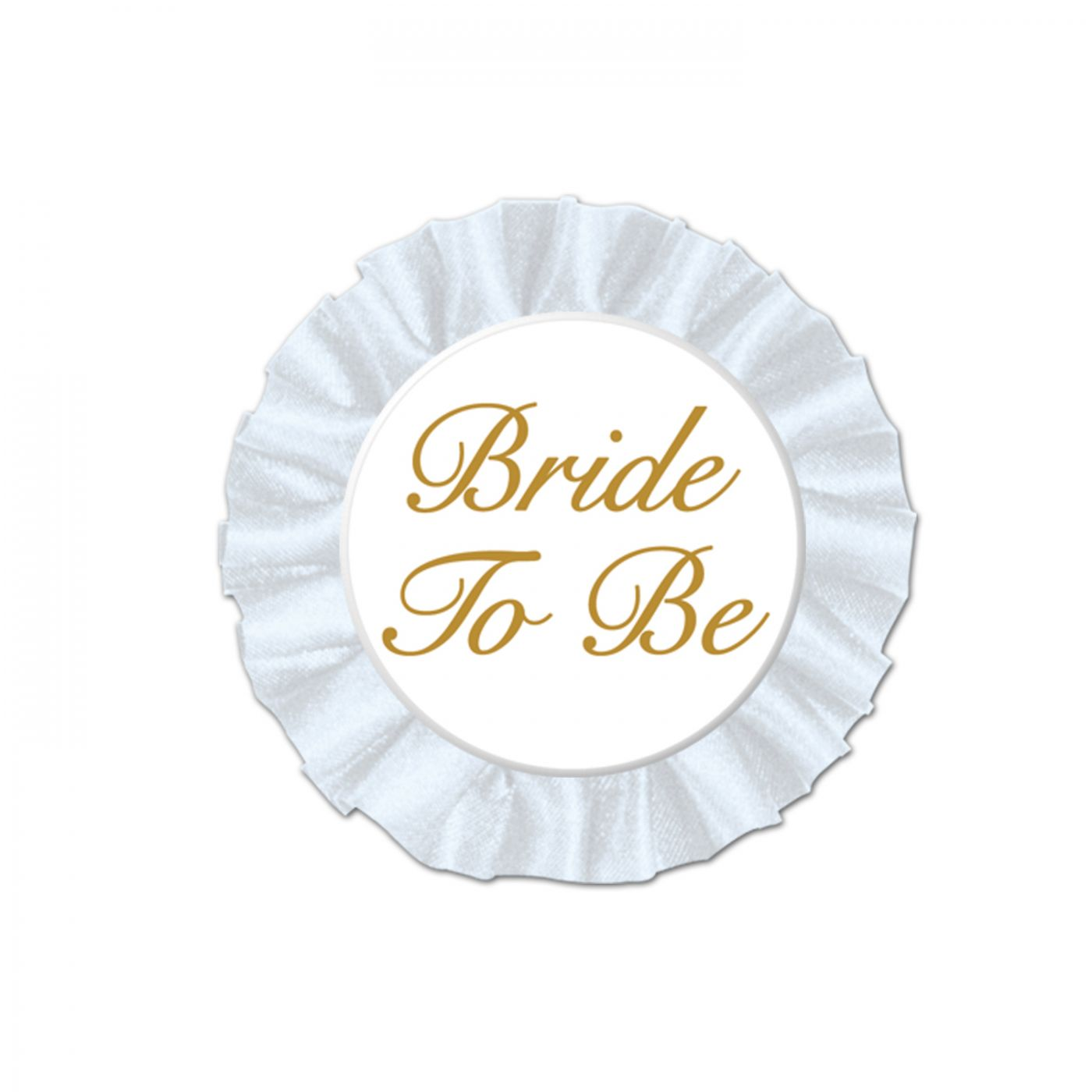 Bride To Be Satin Button image