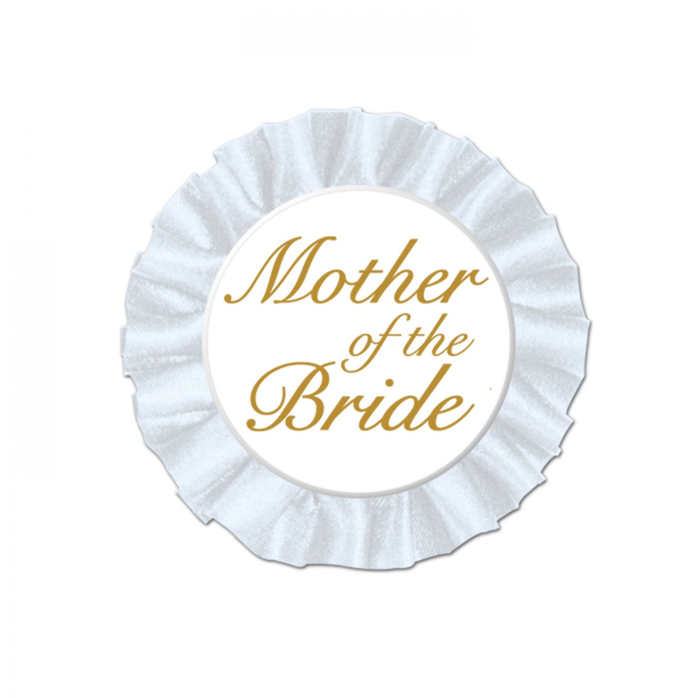 Mother Of The Bride Satin Button image