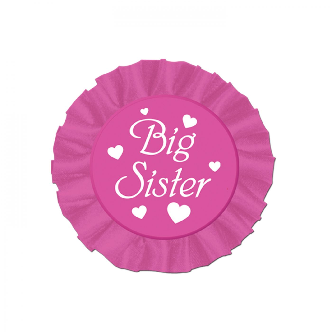 Image of Big Sister Satin Button