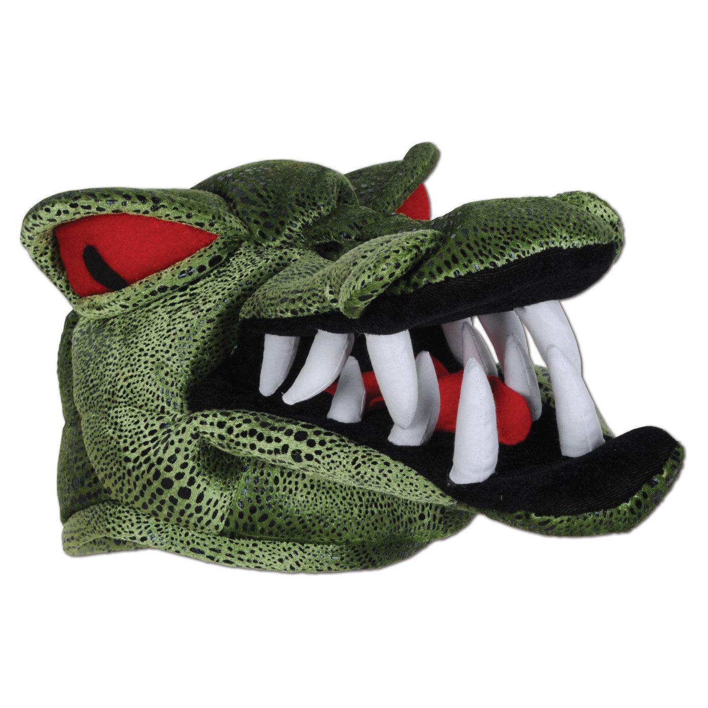 Plush Crocodile Hat (6) image
