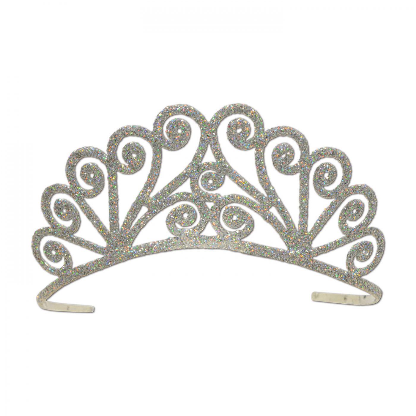 Glittered Metal Tiara (6) image