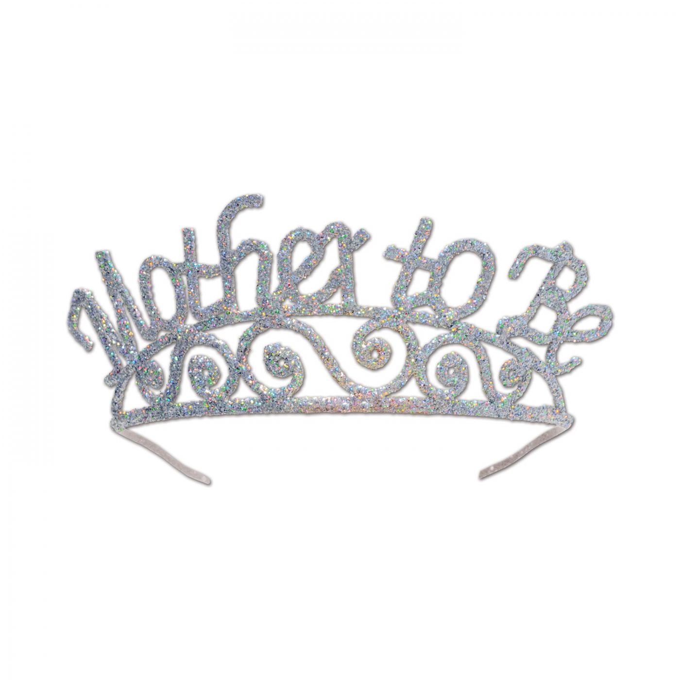 Glittered Metal Mother To Be Tiara (6) image