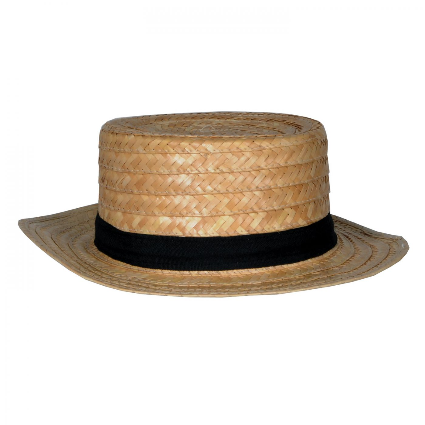 Straw Skimmer Hat image