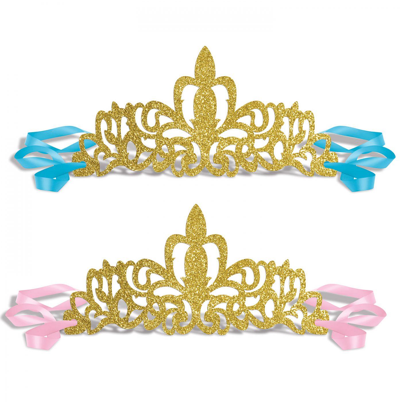 Glittered Princess Tiaras image